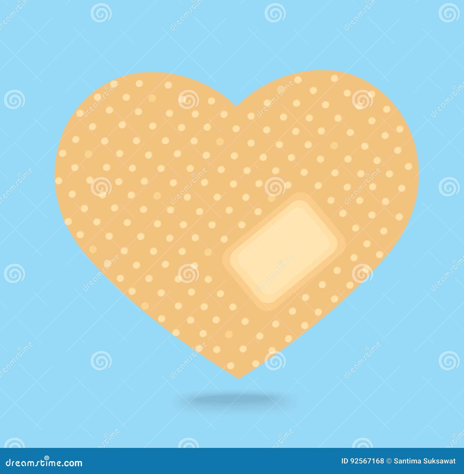 Gesso attaccante sul vettore dell icona del cuore rotto