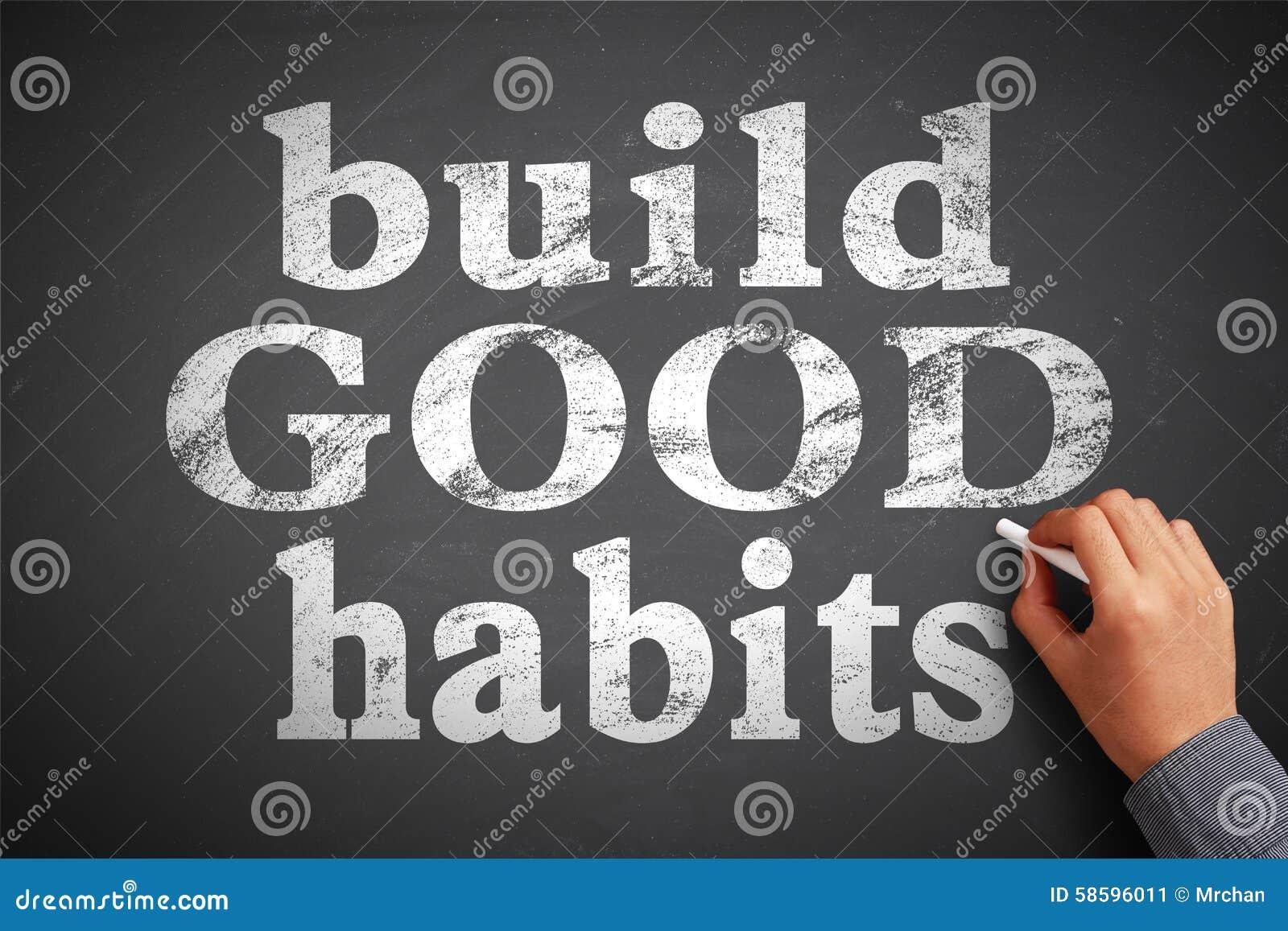 Gestalt-gute Gewohnheiten