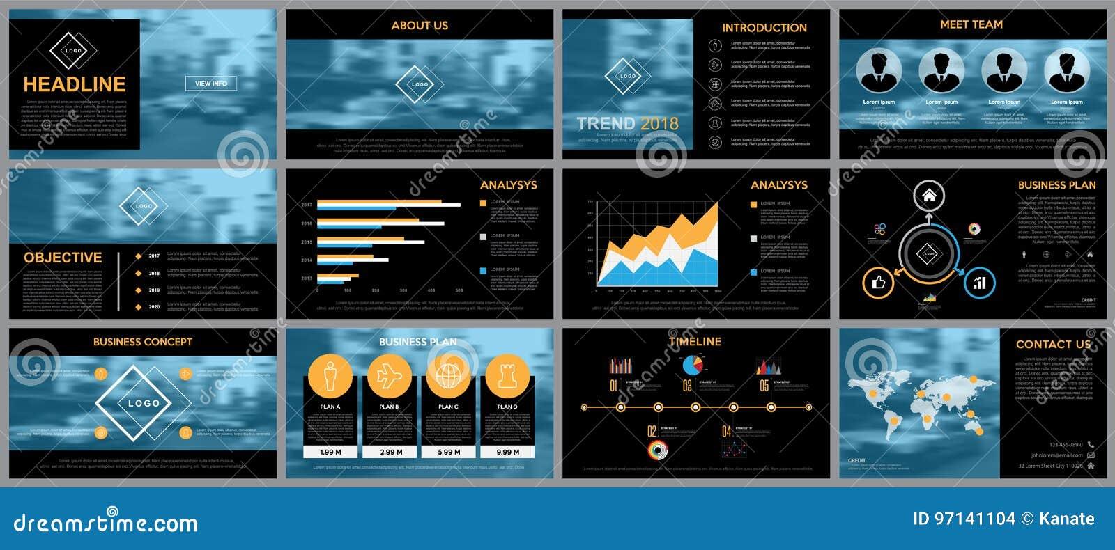 Gestaltungselement von infographics für Darstellungsschablonen