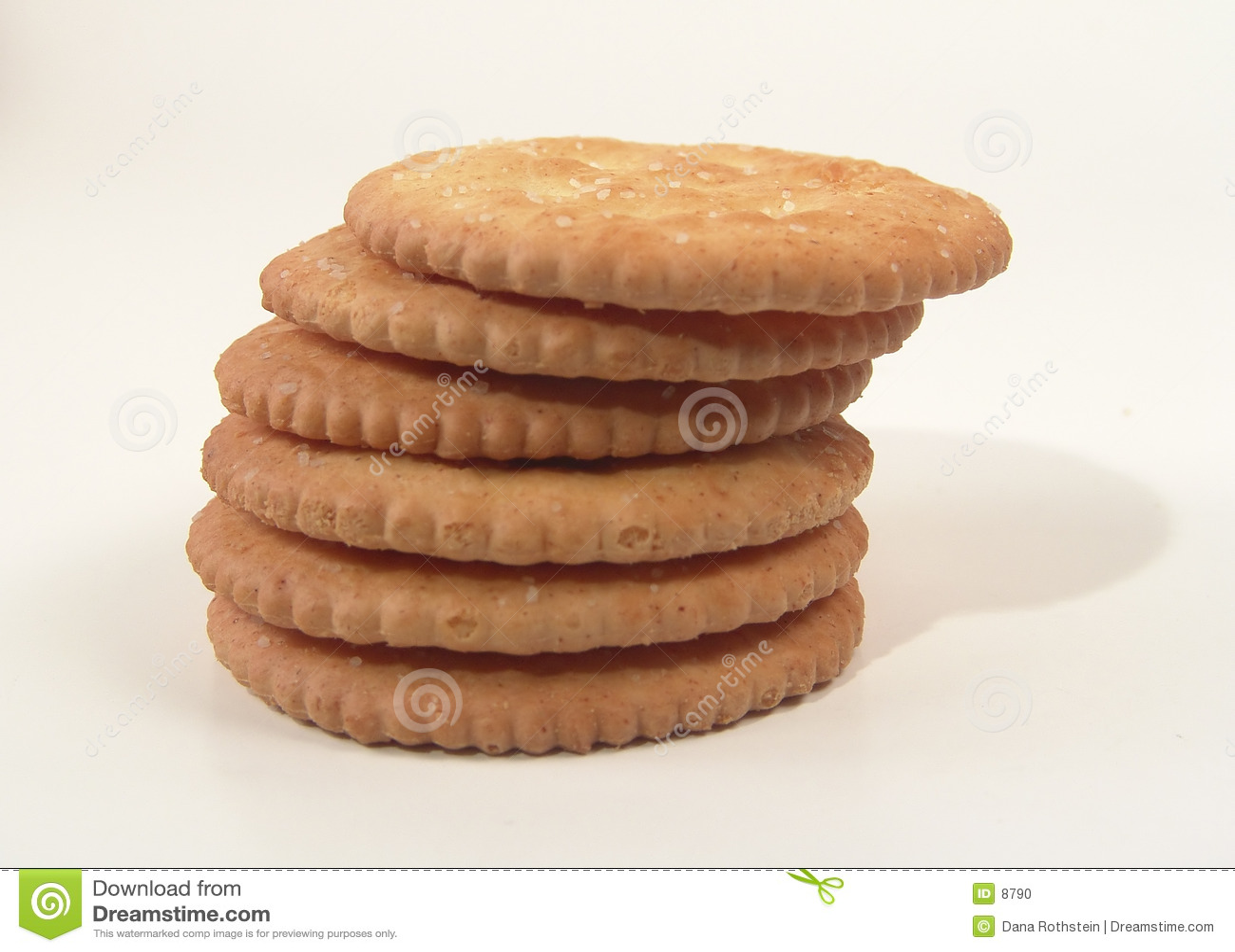 Gestapelde crackers
