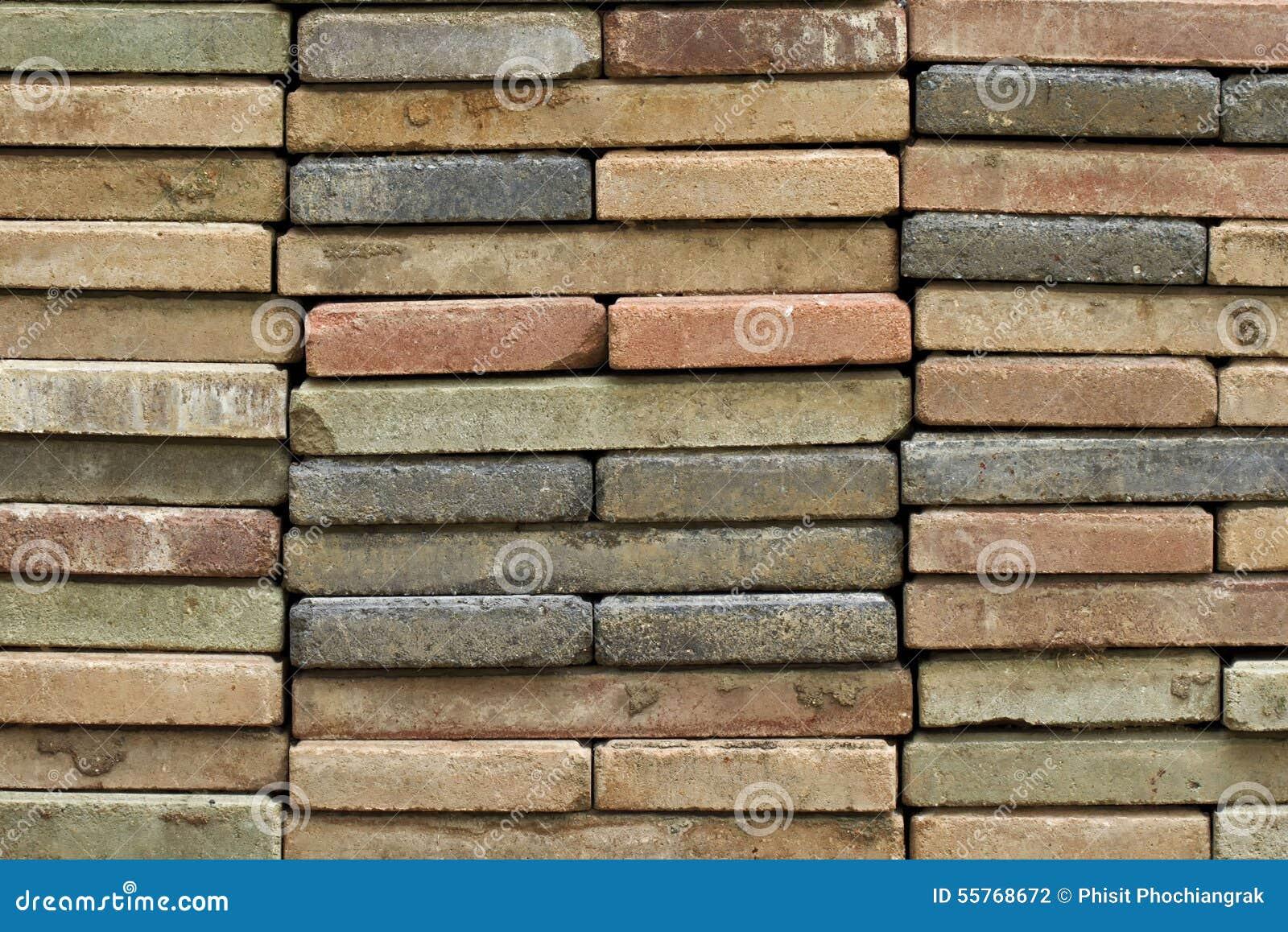 Fußboden Aus Ziegelsteinen ~ Gestapelt vom alten ziegelstein entsteint boden stockfoto bild von