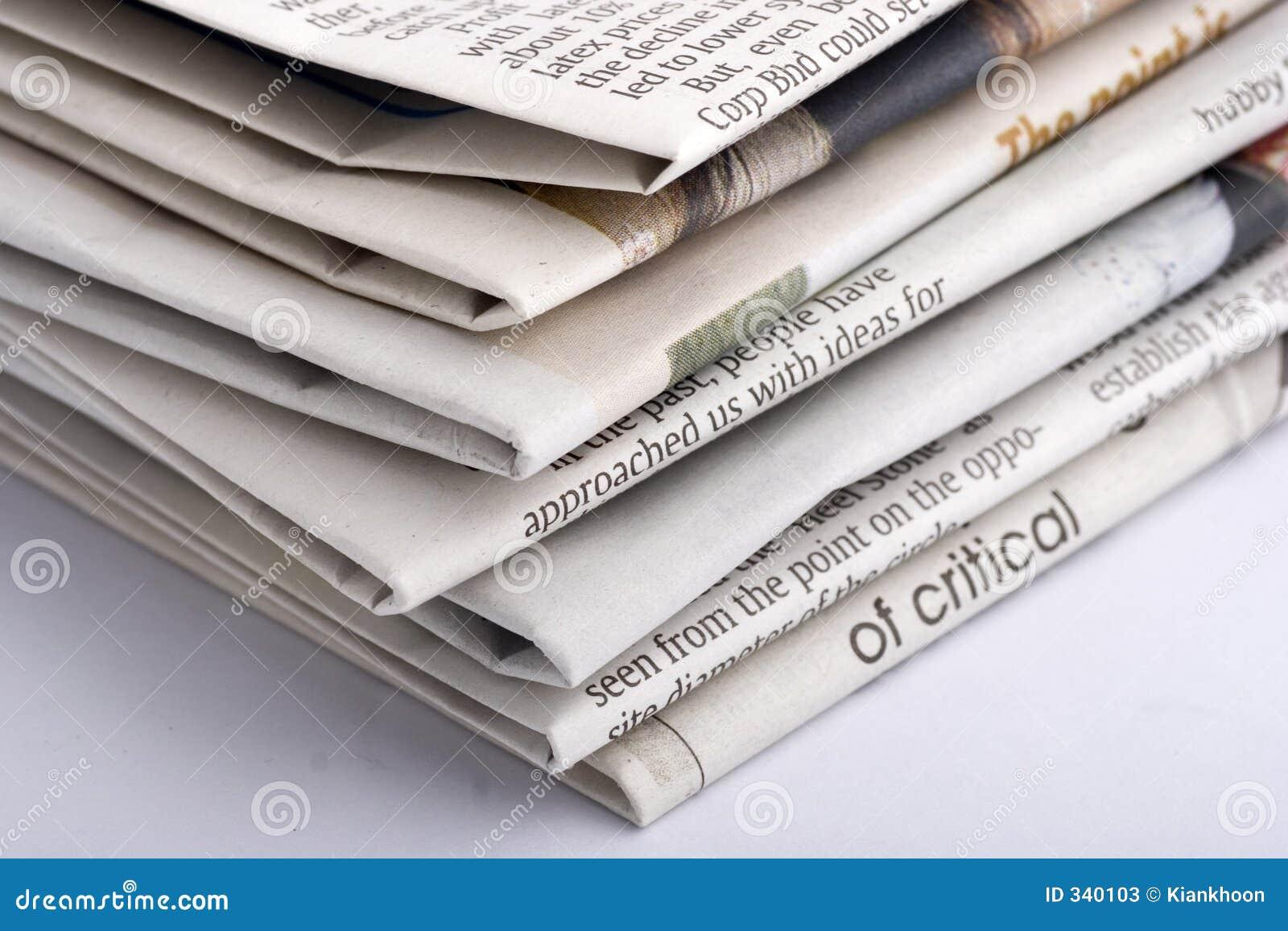 Gestapeltes Papier