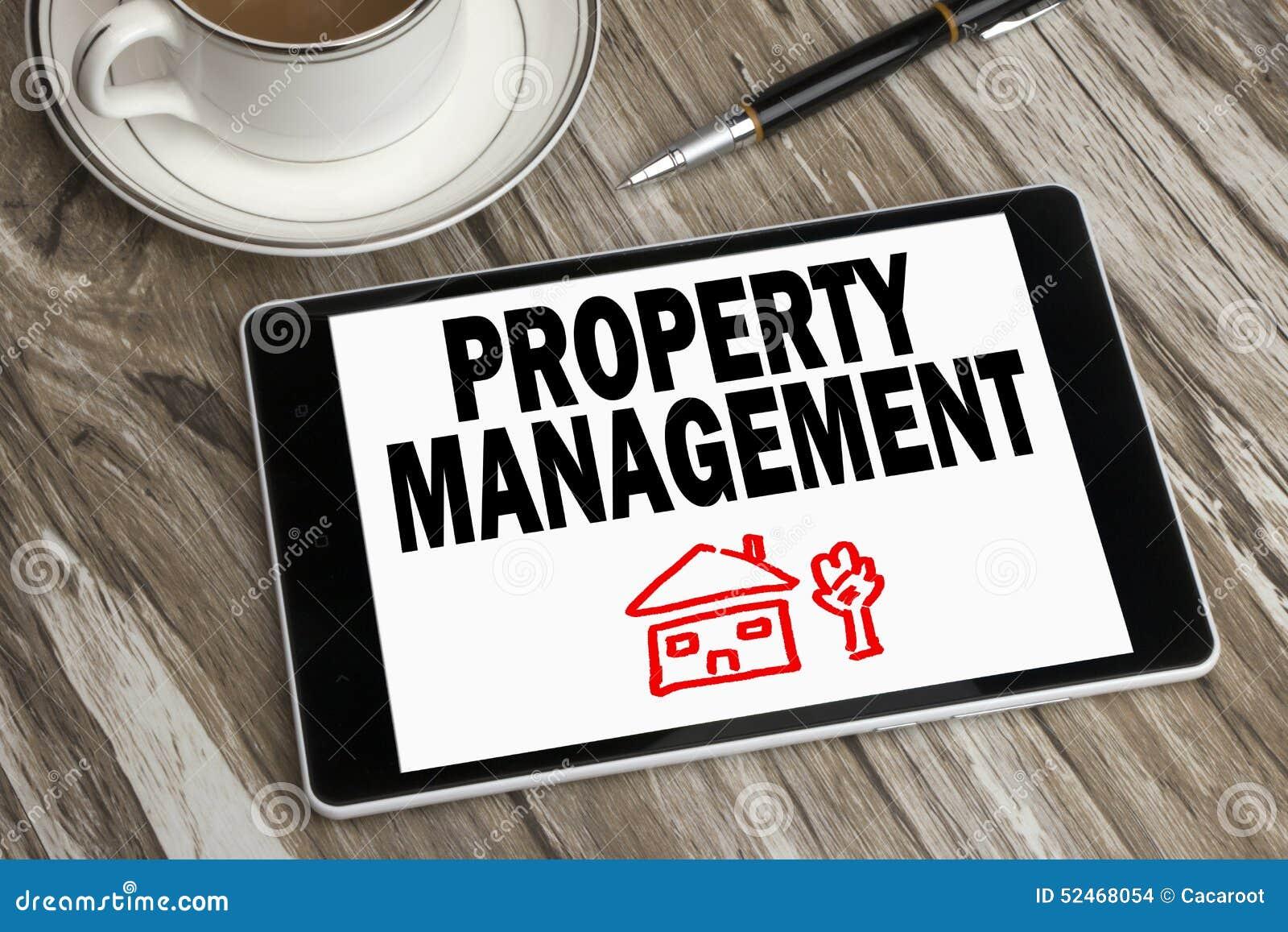 Gestión de la propiedad exhibida en la PC de la tableta