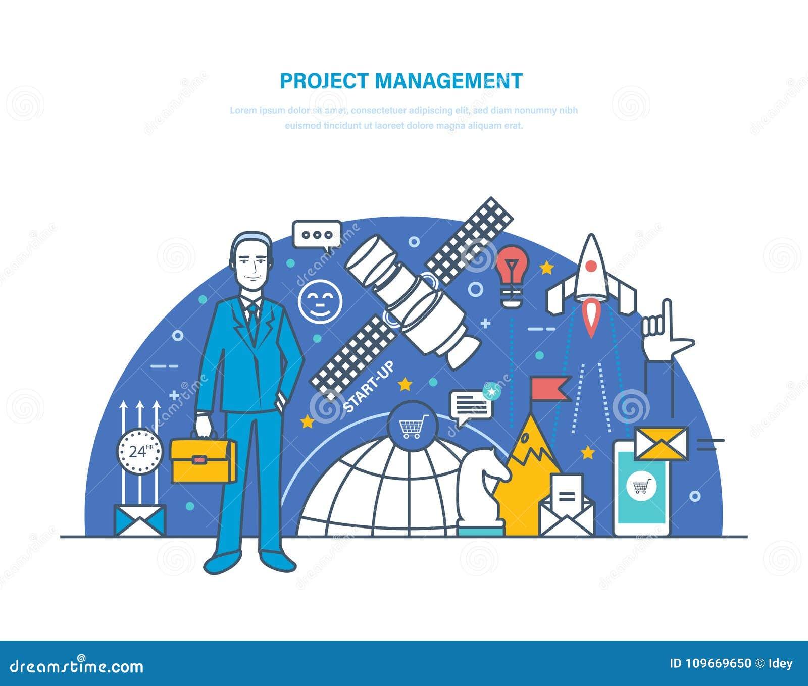 Gestión de proyectos Planeamiento, organización de horas de trabajo, regulación, gestión de tiempo