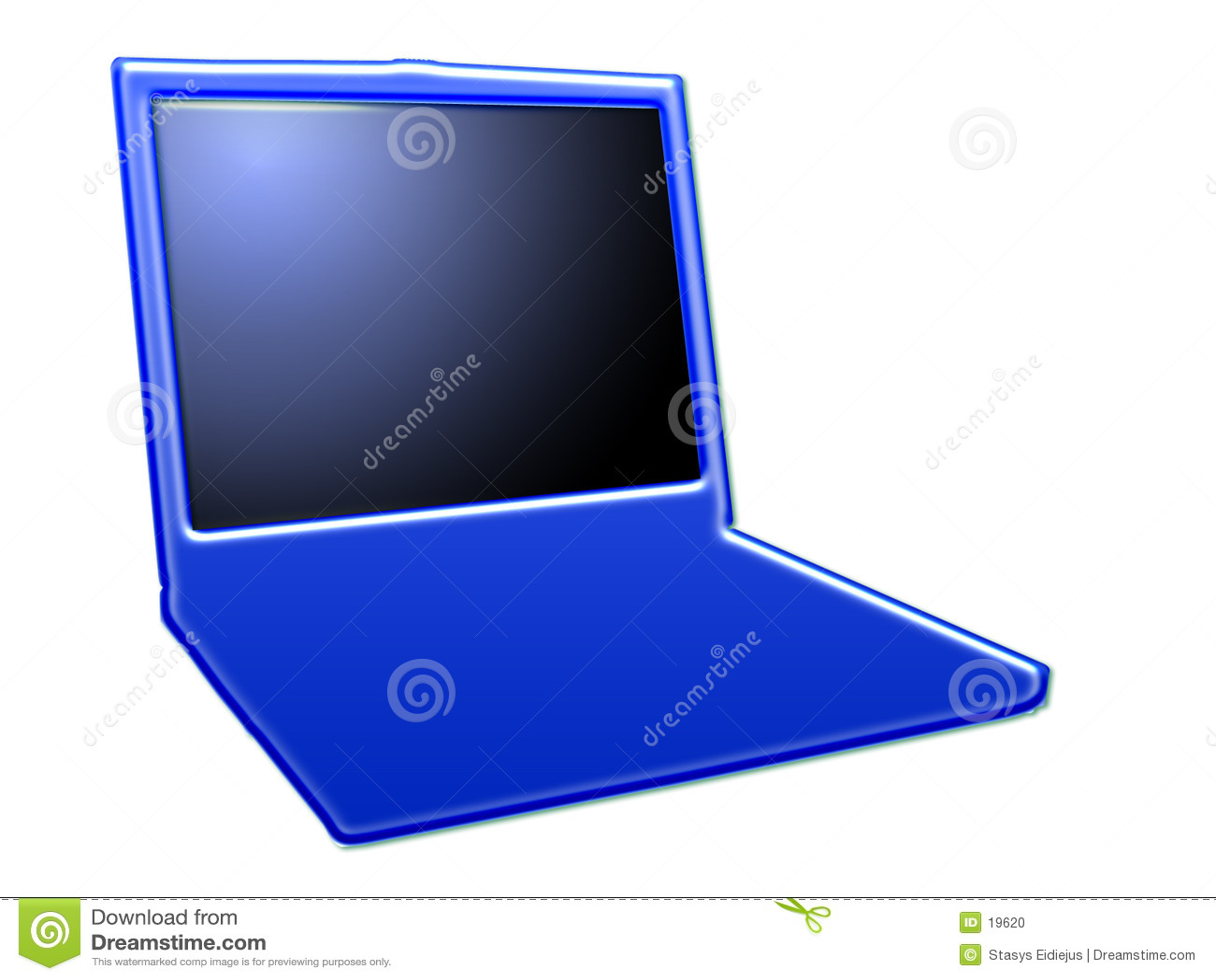 Gestileerde laptop, II