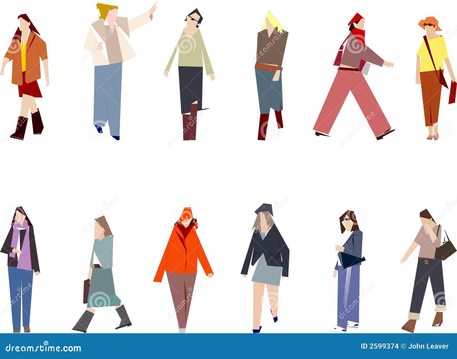 Gestileerde vrouwen