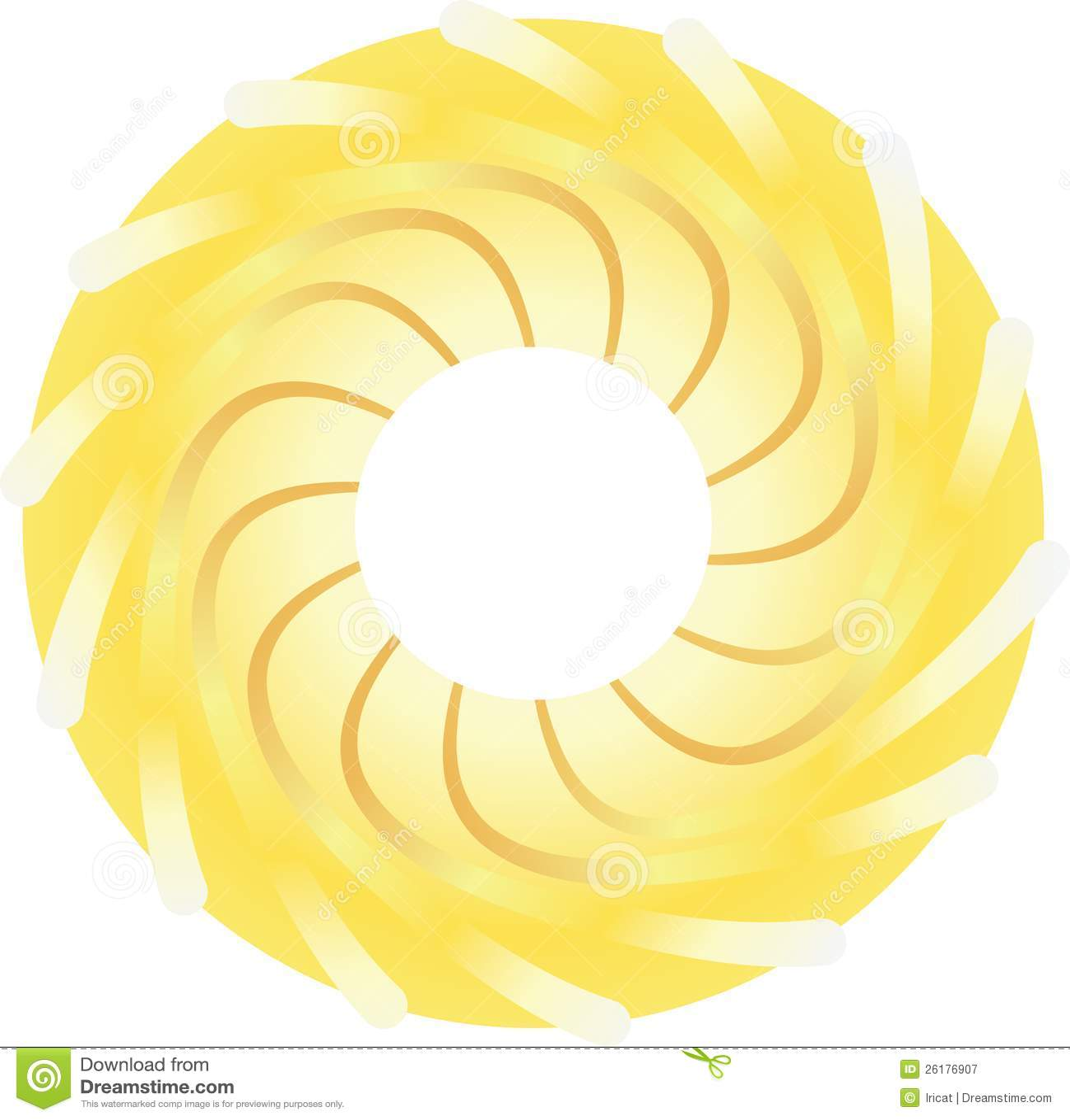 Gestileerde zon