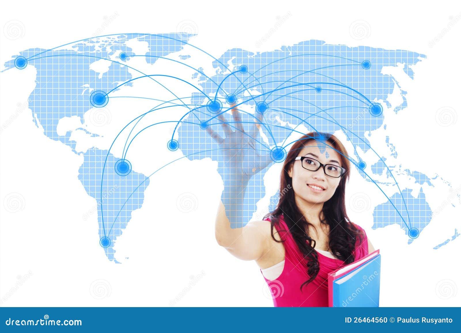 Gestion de réseau globale d étudiant universitaire