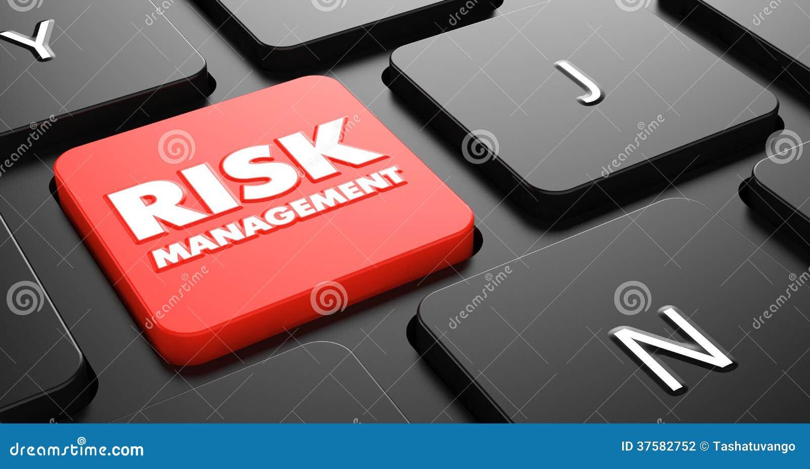 Gestion des risques sur le bouton rouge de clavier.
