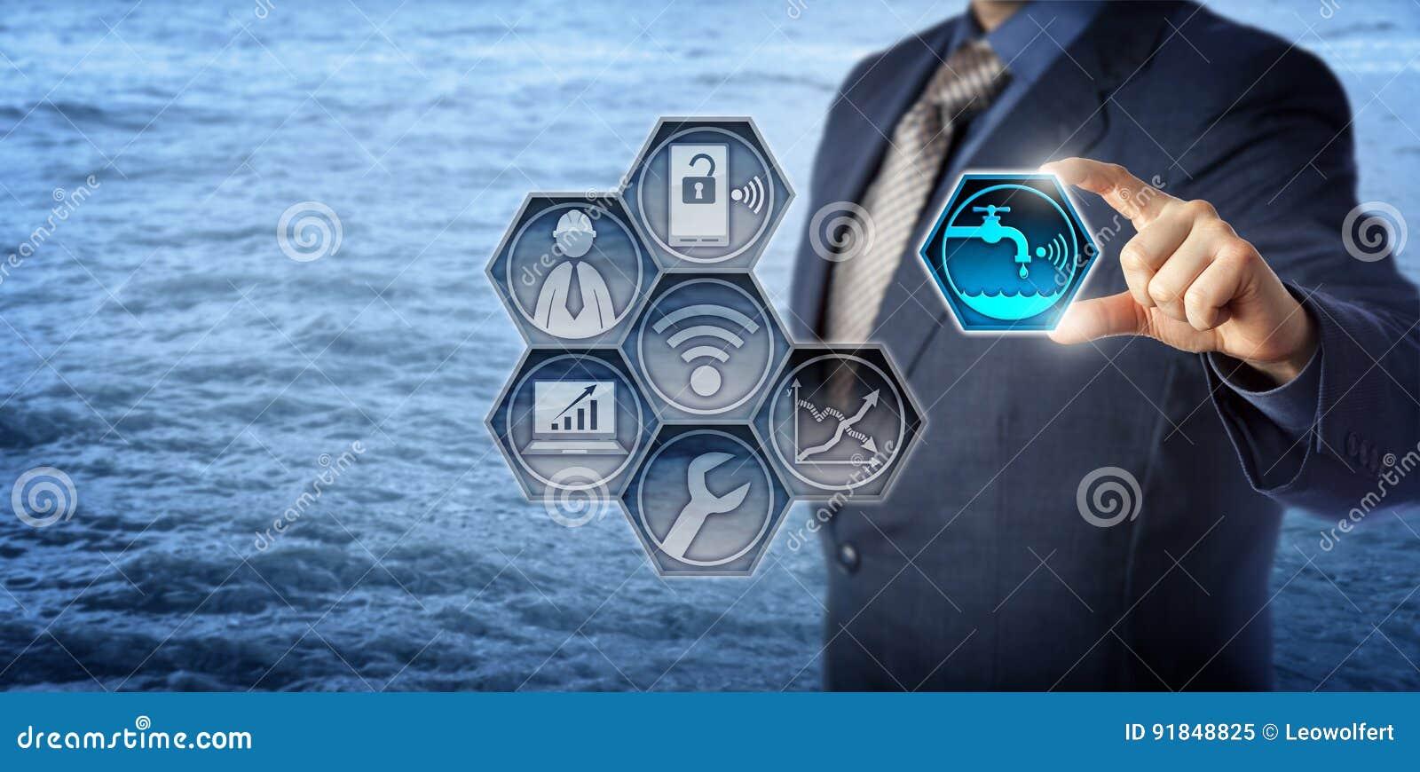 Gestione di Activates Smart Water dell ingegnere civile