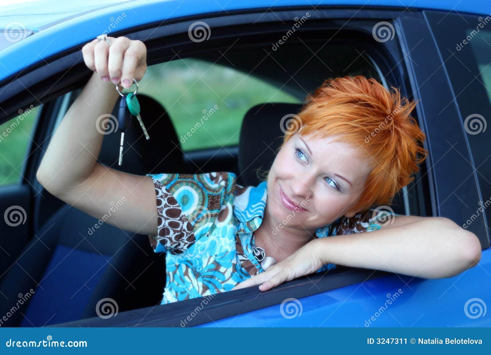 Gestionnaire neuf avec la clé du véhicule