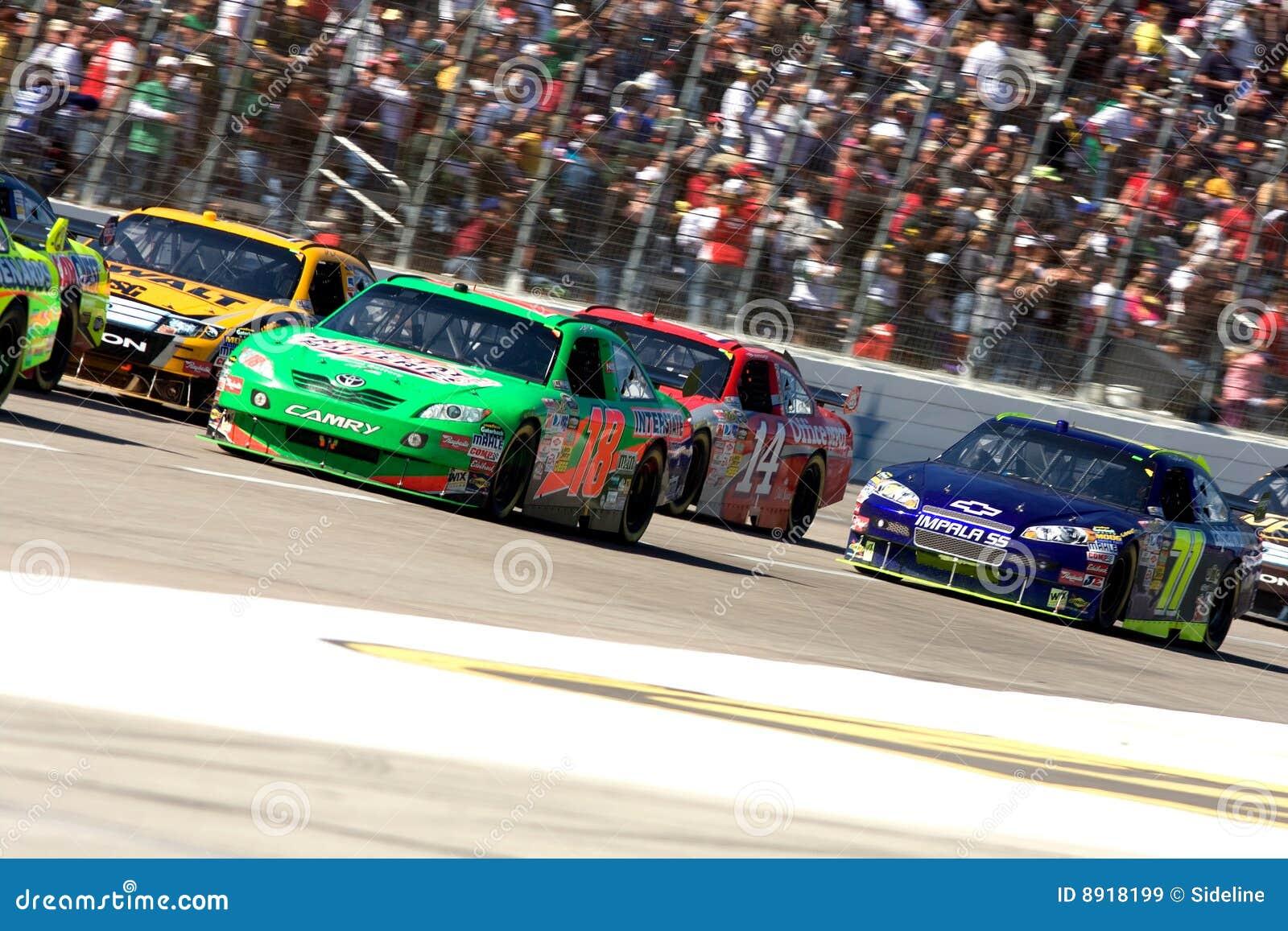 Gestionnaires de NASCAR à la piste du Texas