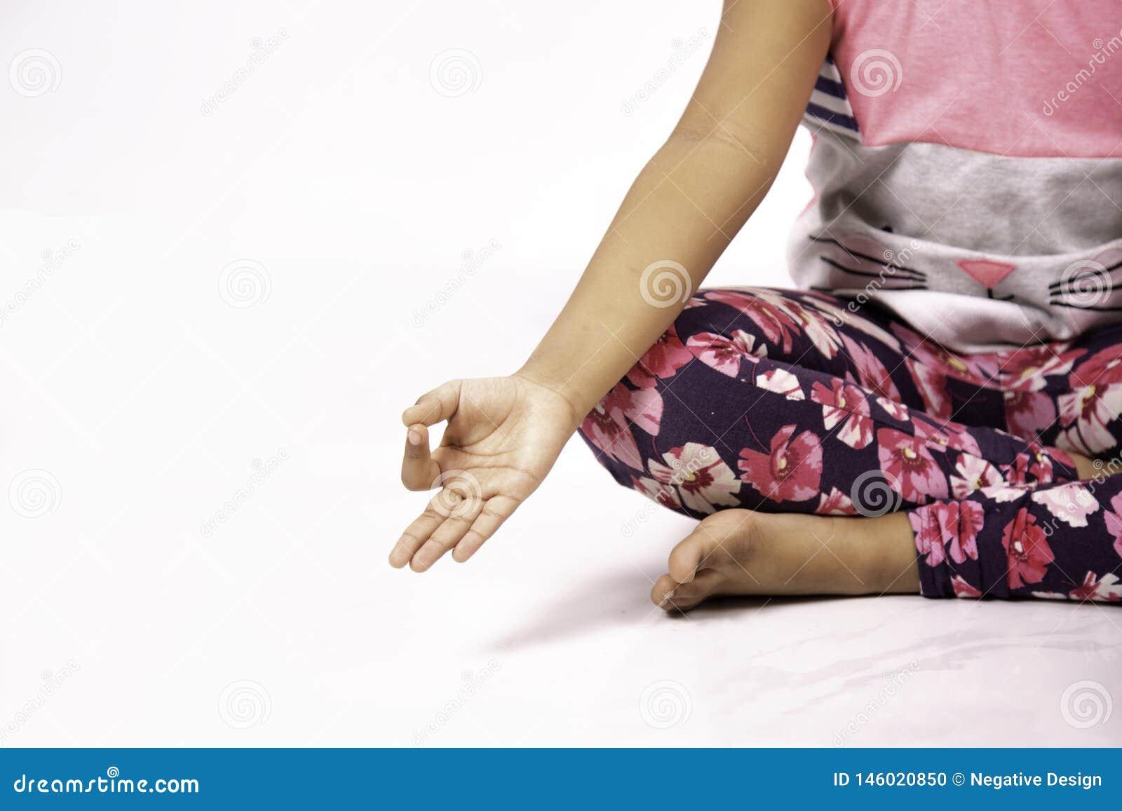 Gesto da pose da ioga