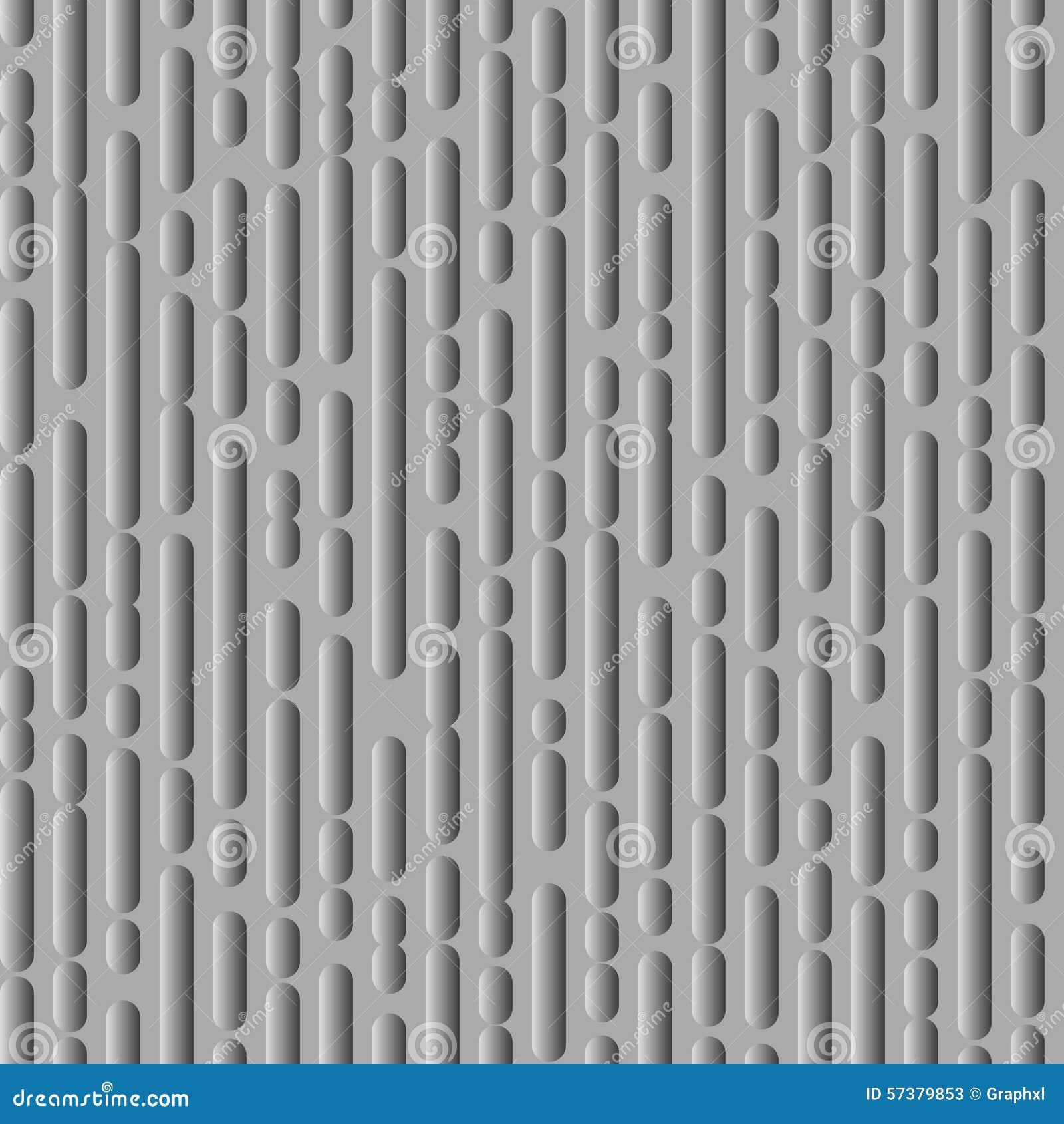 Gestormde lijnentextuur, plastic variant
