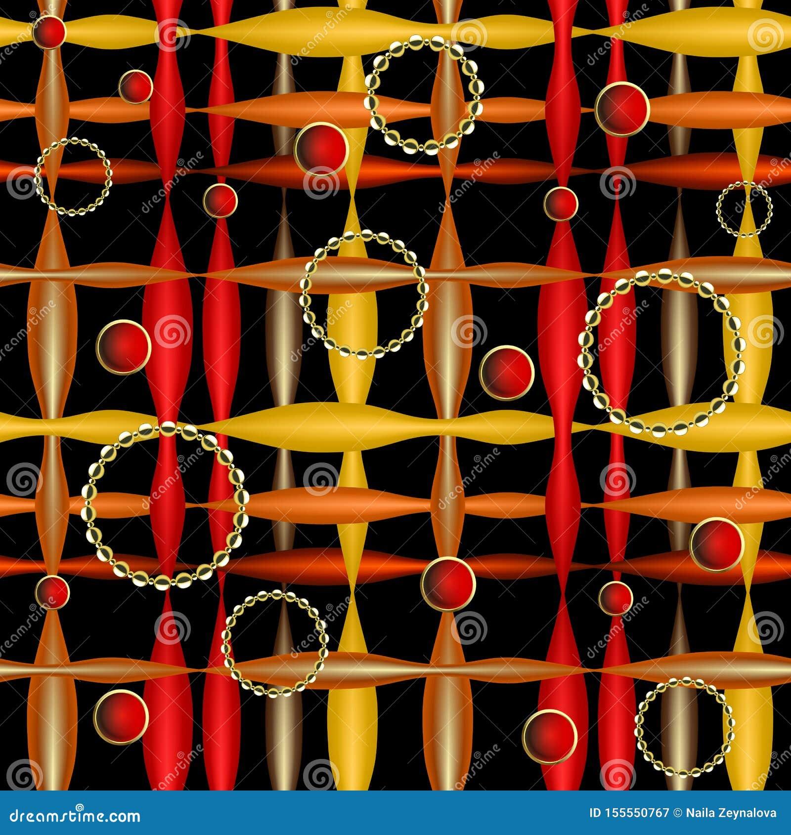 Gestreept abstract kleurrijk 3d vector naadloos patroon Geometrische sier moderne achtergrond Oppervlakte eindeloze textuur