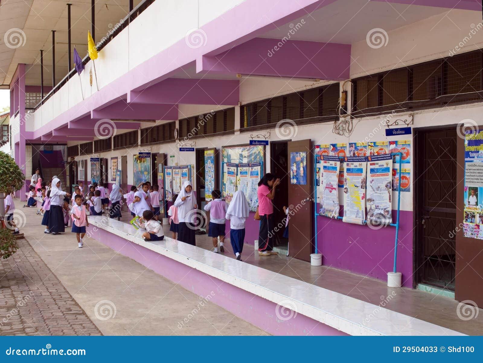 Gesubsidieerde lage school in Thailand 3