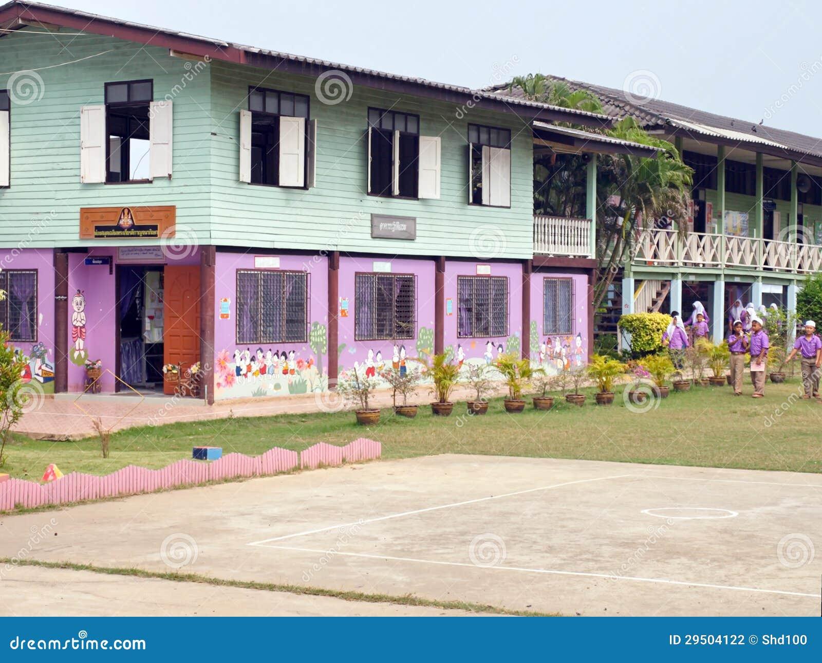 Gesubsidieerde lage school in Thailand 4