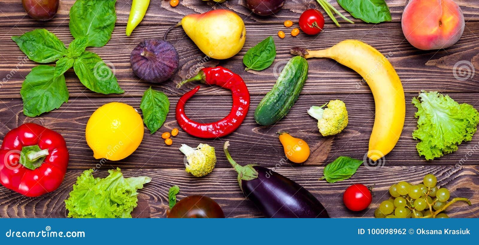 Gesunde Ernahrung Diat Detoxhintergrund Zusammenstellung Von