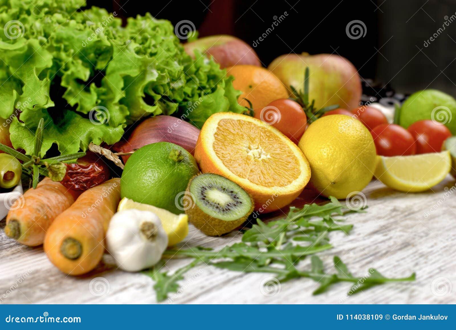Gesunde Ernahrung Gesunde Diat Organisches Obst Und Gemuse