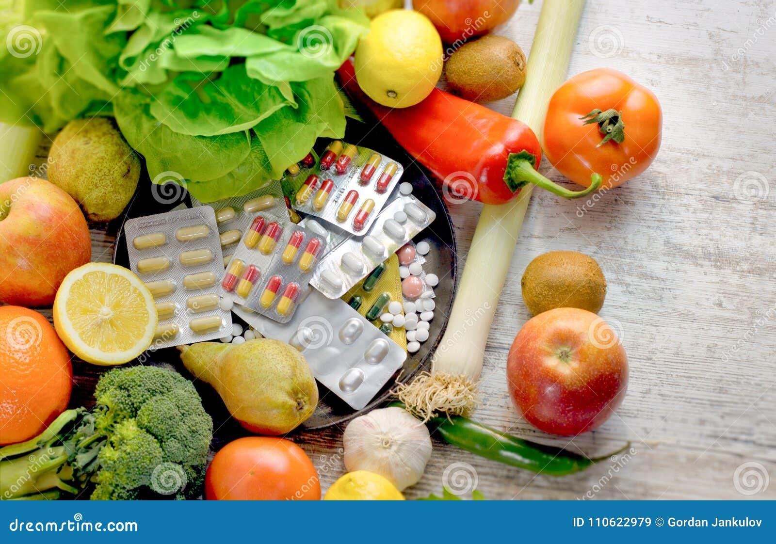 Lebensmittel für eine gesunde Ernährung