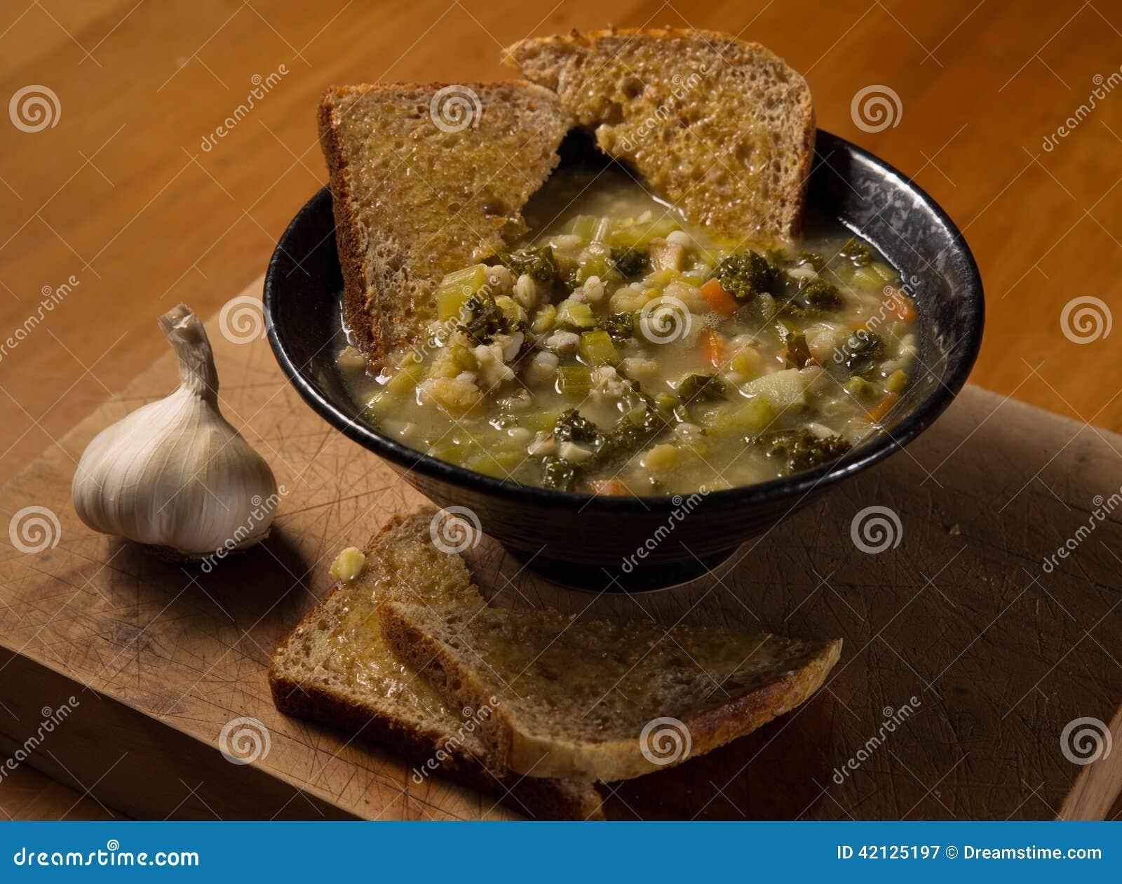 Gesunde Gemüsesuppe