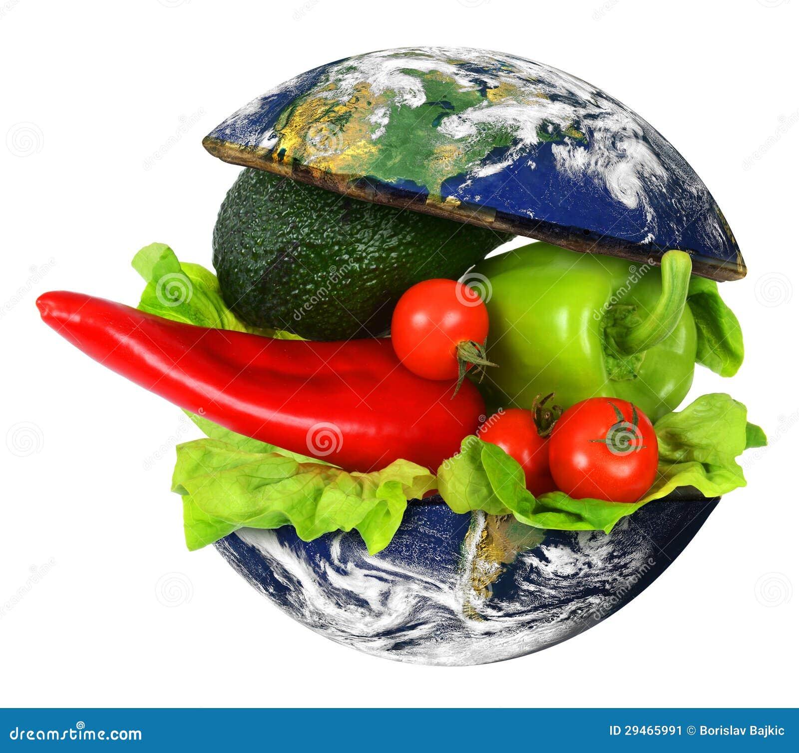 Gesunde internationale Nahrung