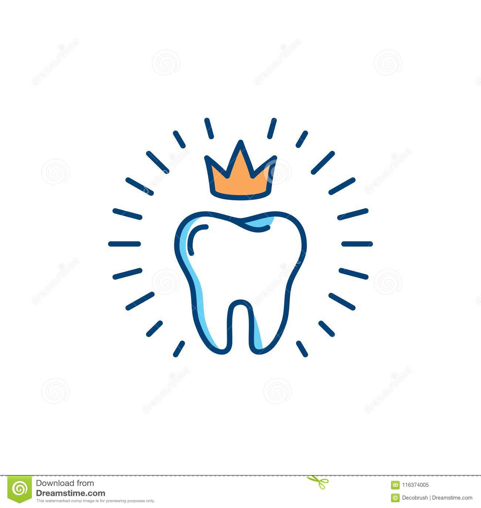Gesunde Zahnikone Zahnpflegelogokonzept, Mundhygiene, zahnmedizinische Klinikfirmenzeichenschablone Stomatologie-Vektor verdünnen