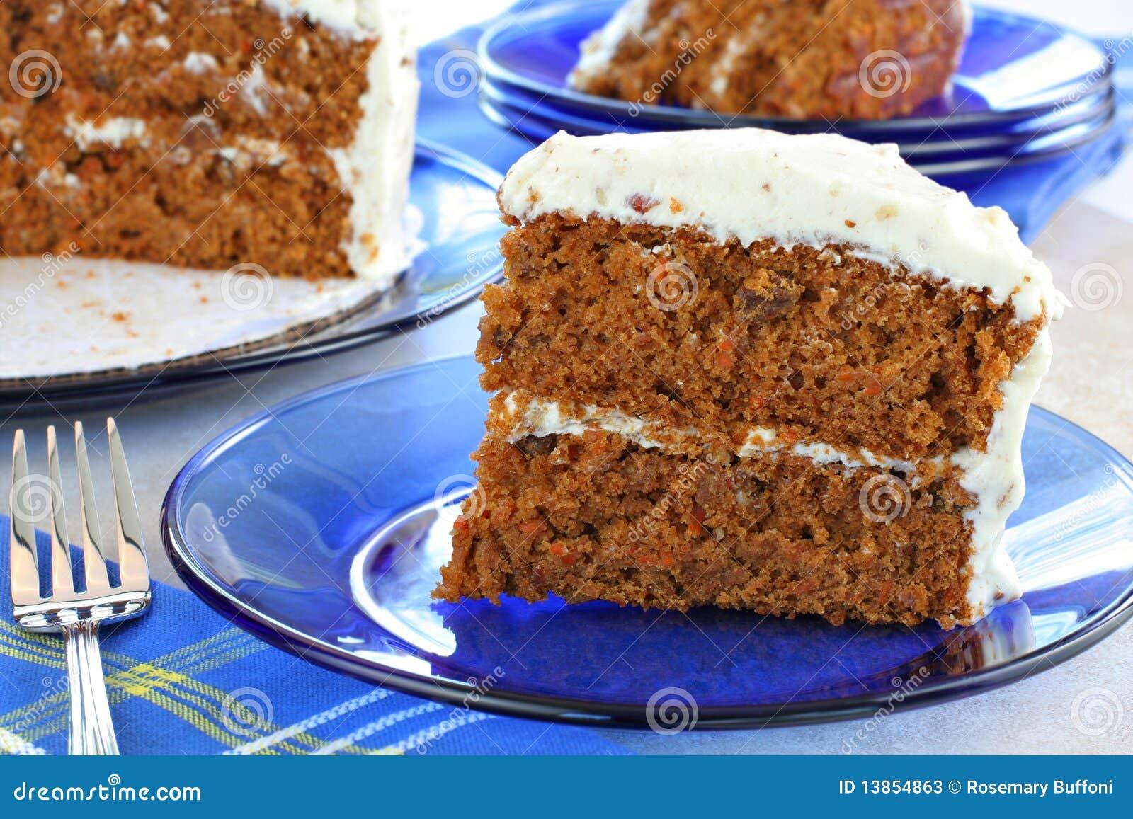 Gesunder Karotte Kuchen Stockbild Bild Von Selbstgemacht 13854863