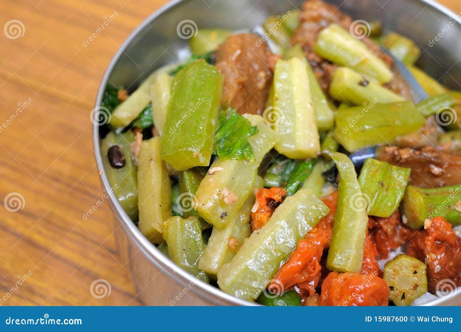 Gesundes Gepacktes Mittagessen Oder Abendessen Stockfoto Bild Von