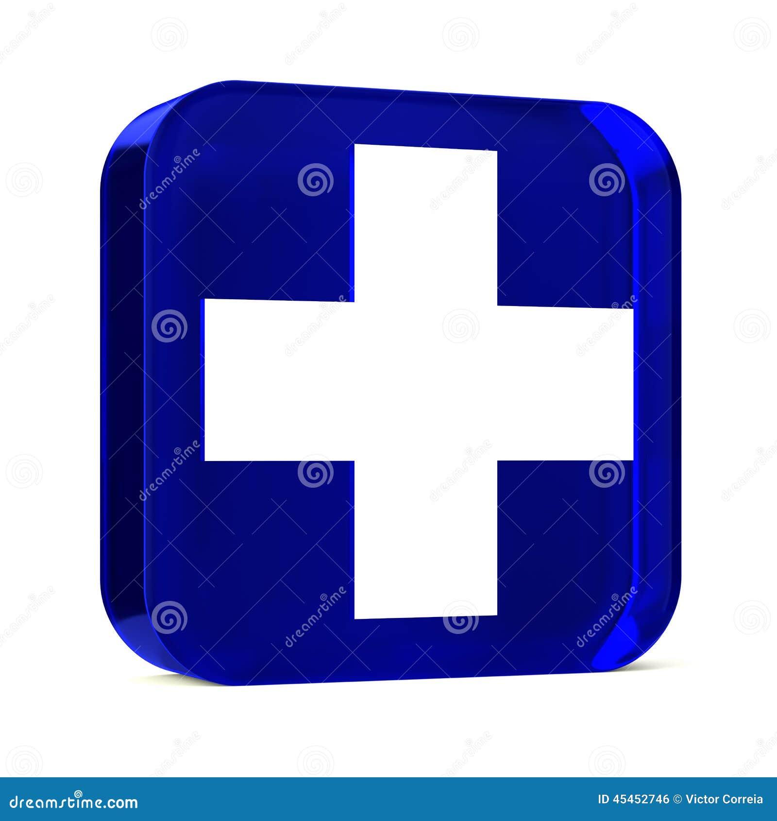 Gesundheitsdienste blau