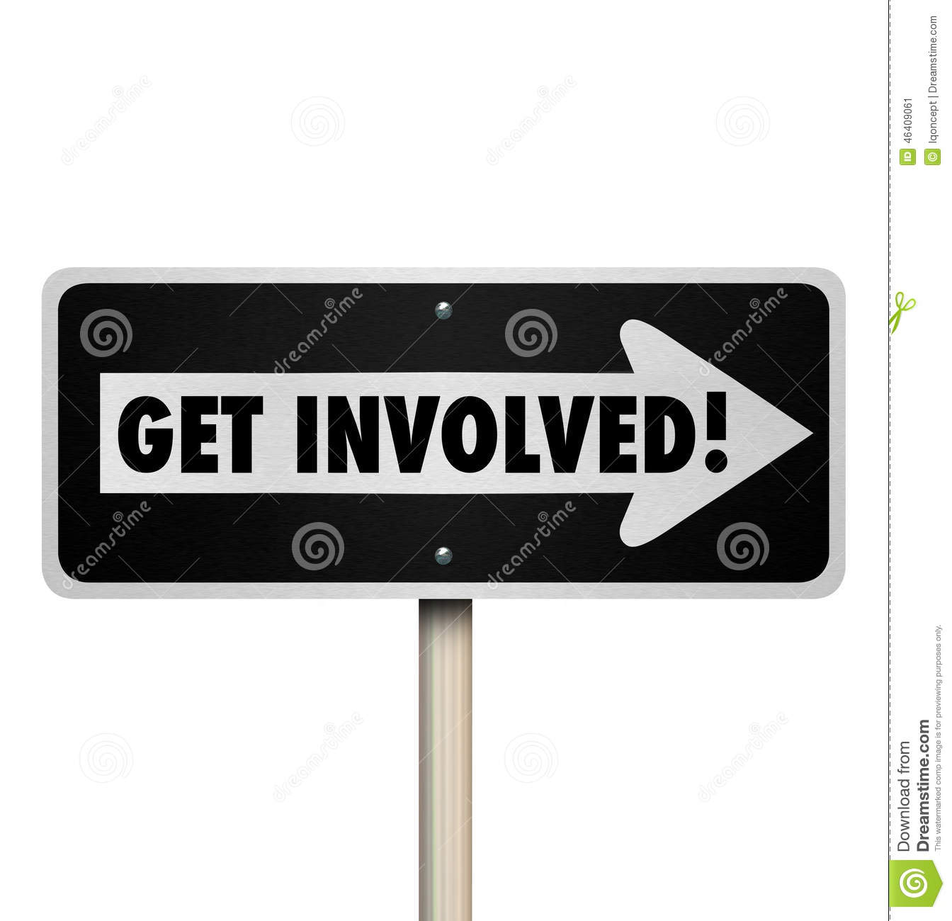 ... Participate Join Engagement Group Stock Illustration - Image: 46409061