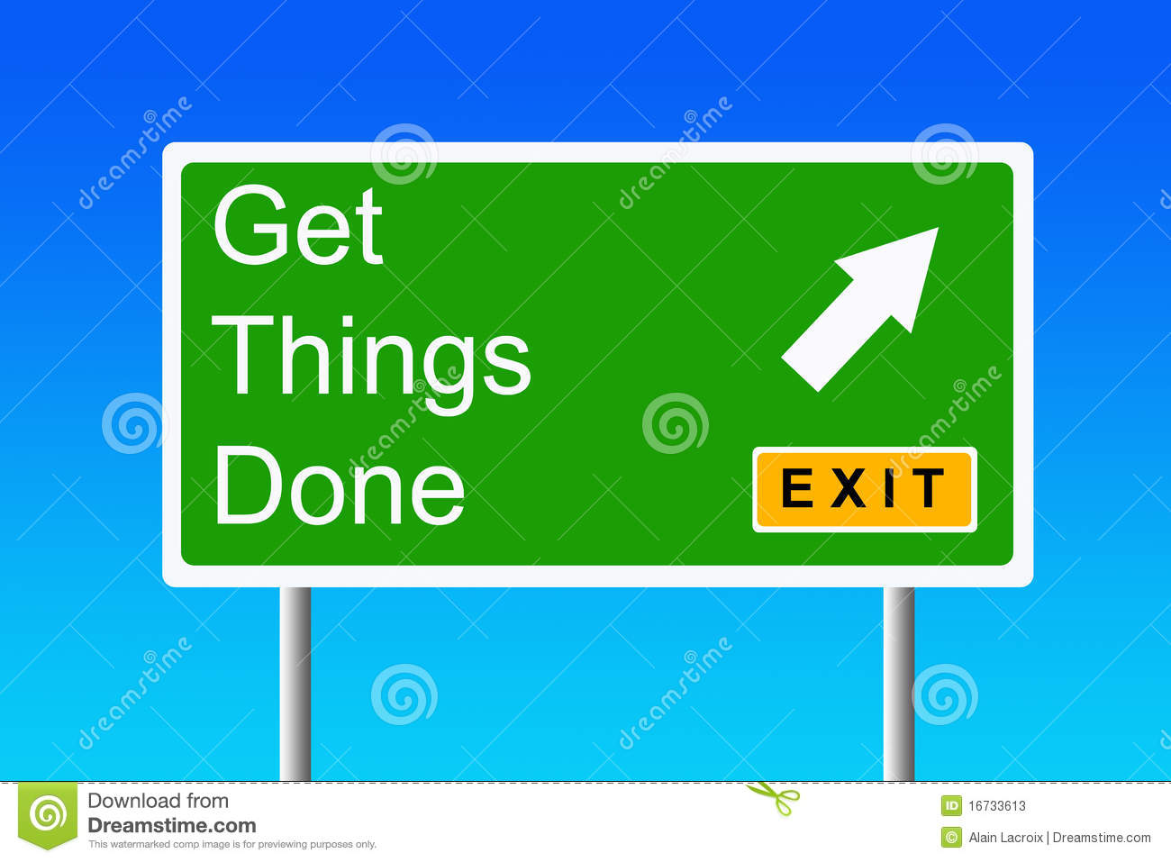 getting things done Getting things done is divided into three parts part 1 provides an outline for getting control of your life through the five stages of mastering workflow: collection, processing, organizing, reviewing and doing.