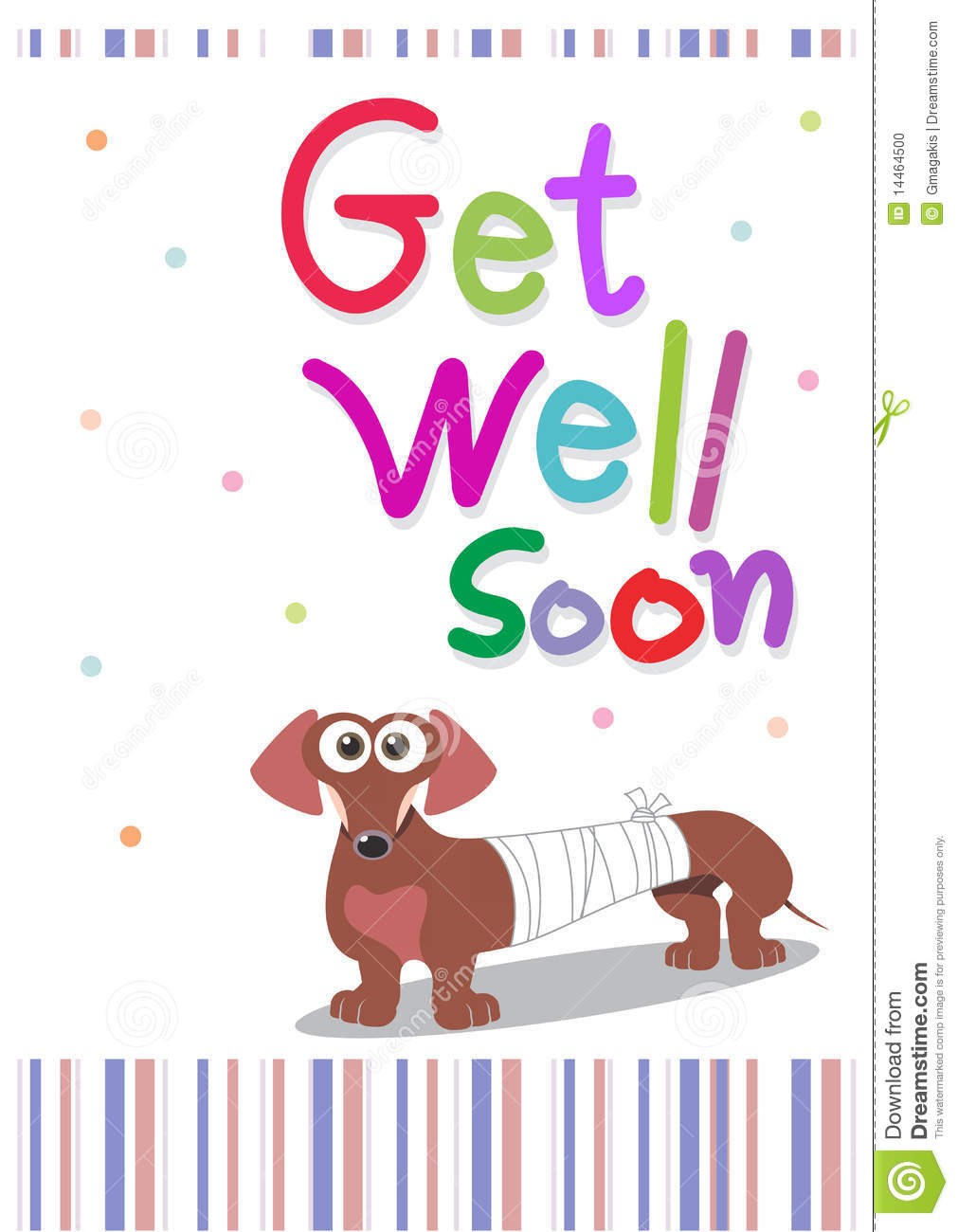 Cute Get Well Soon Pictures Get well soon card