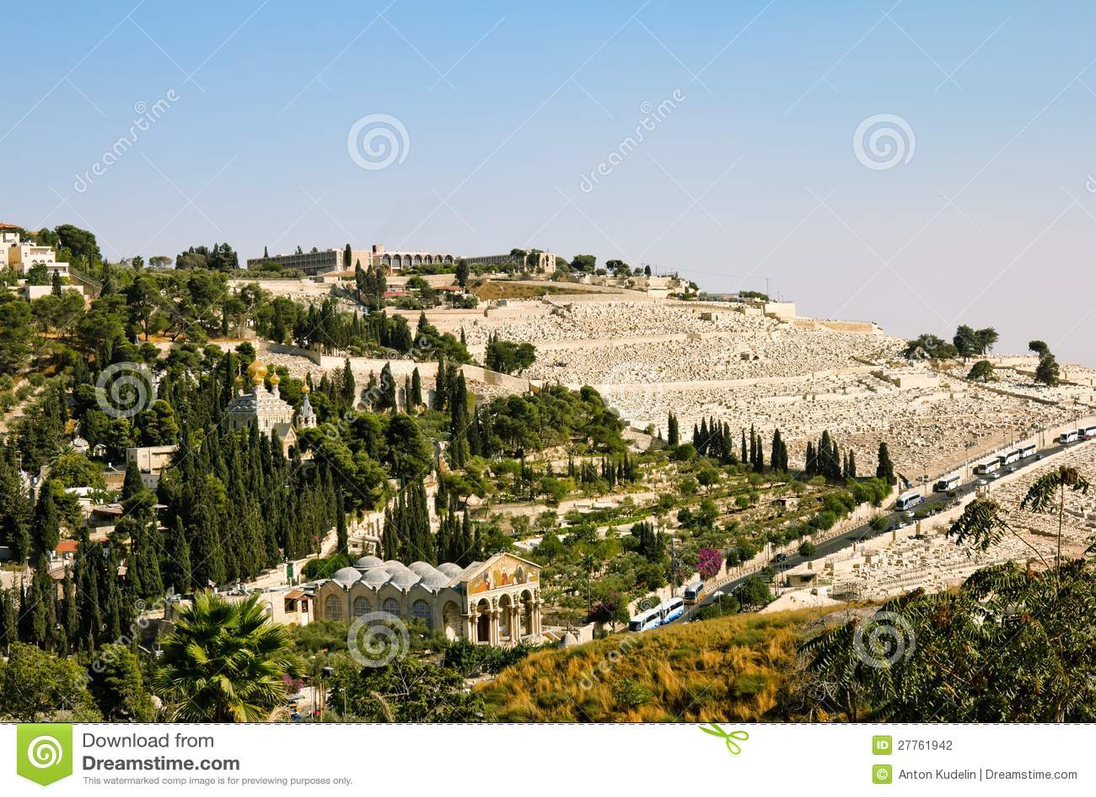 Gethsemane, et l église de toutes les nations