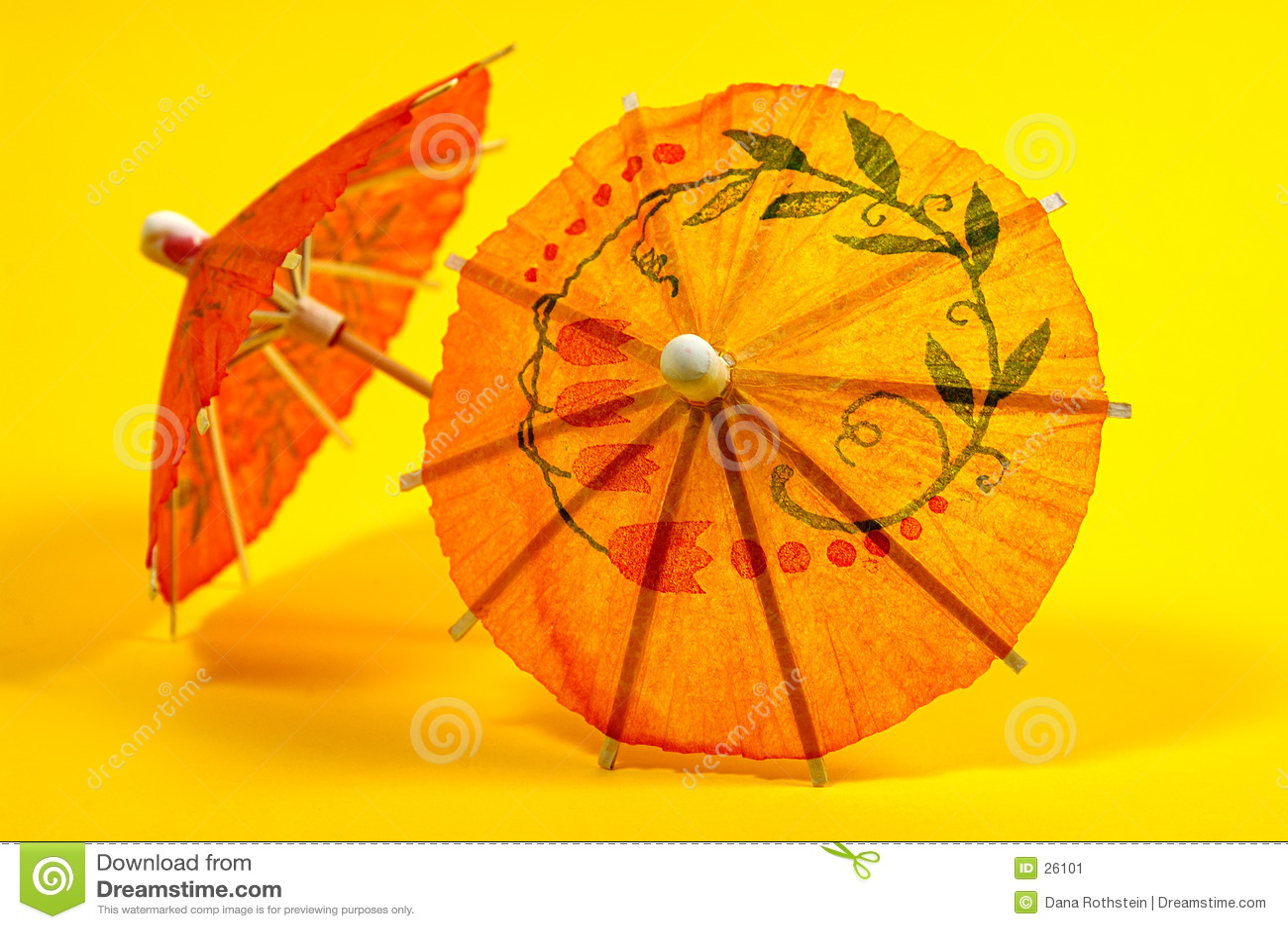 Getränk-Regenschirme