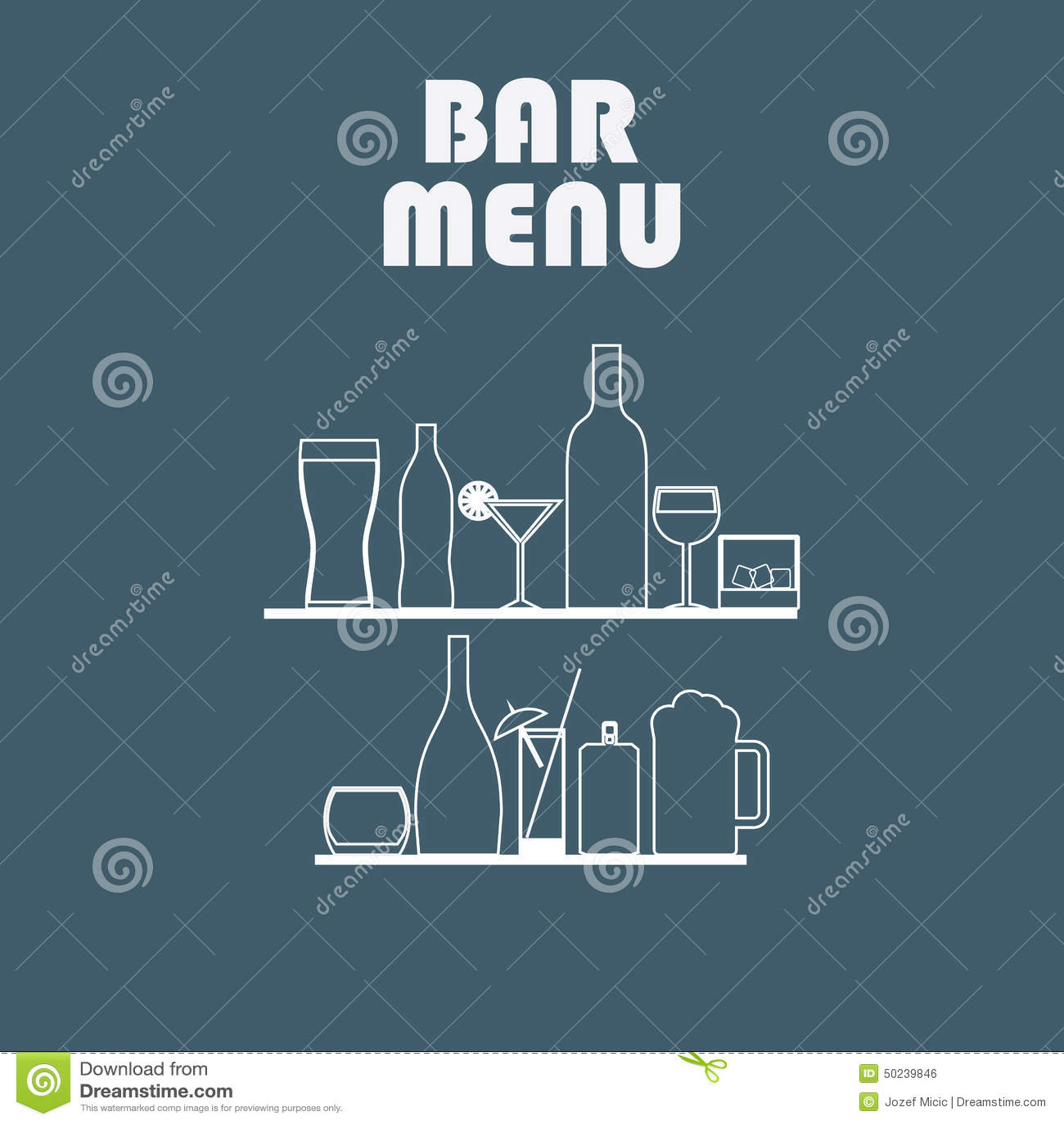 Getränklinie Ikonen im einfachen flachen Design alcohol