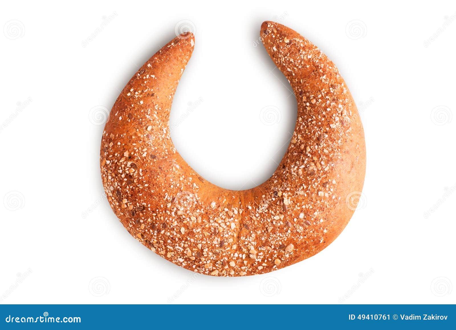 Download Getreidebagel stockbild. Bild von kauen, einzeln, gestiegen - 49410761