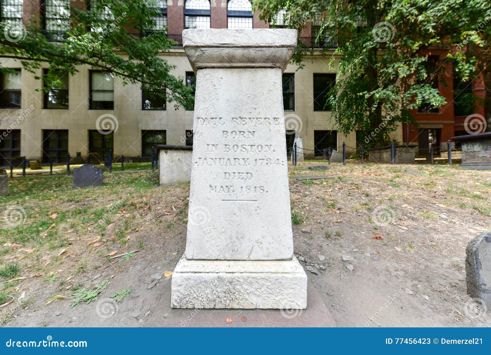 Getreidespeicher-Friedhof - Boston, Massachusetts