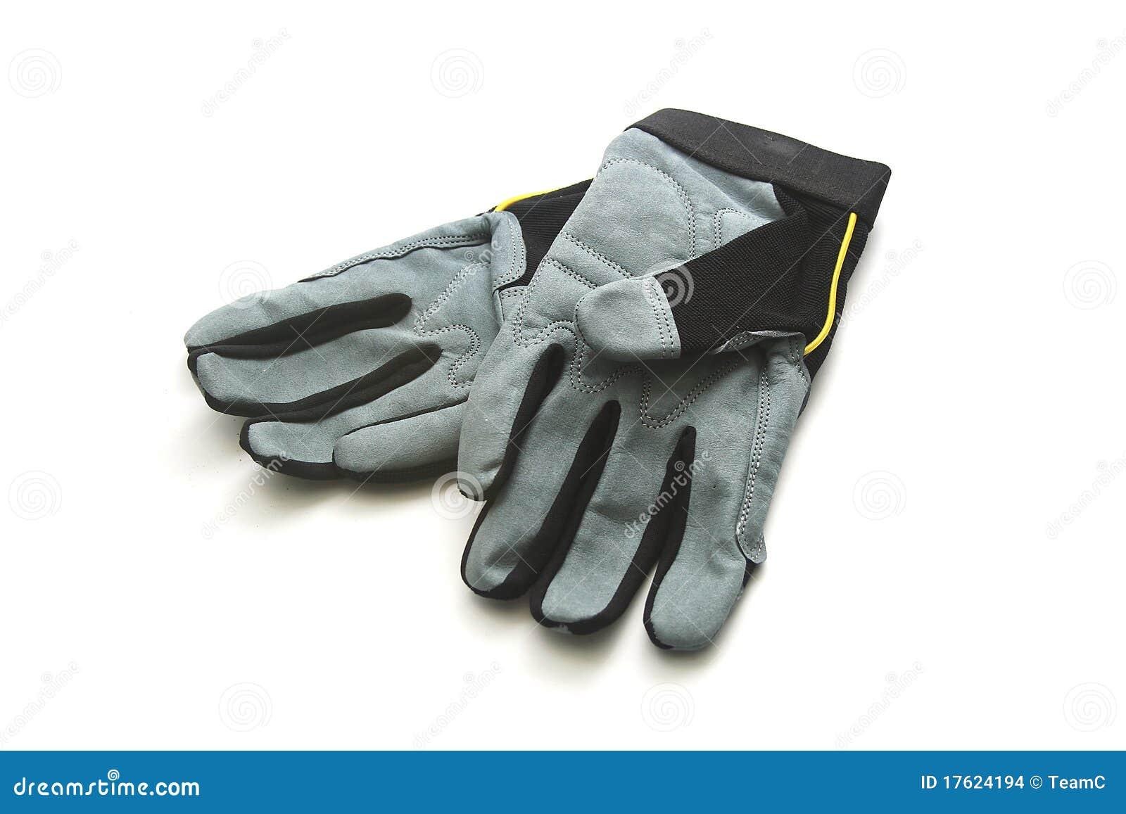 Getrennte Arbeits-Handschuhe