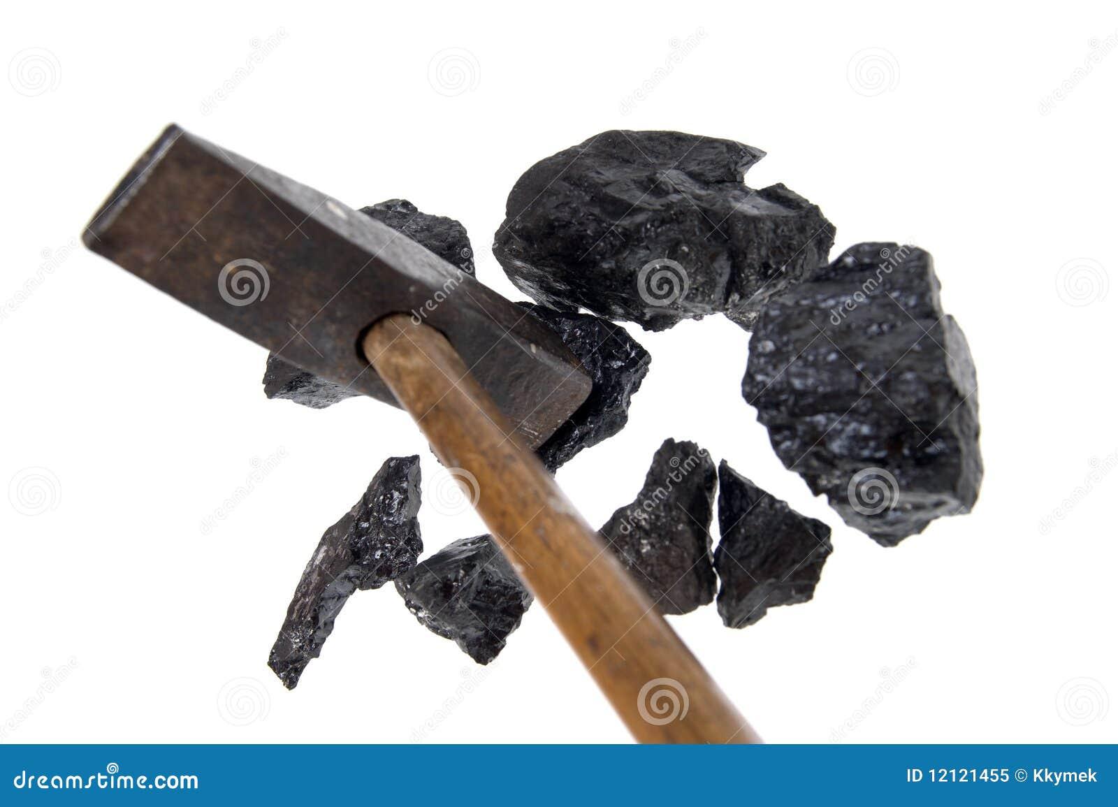 Getrennte Hammerkohle, Kohlenstoffnuggets