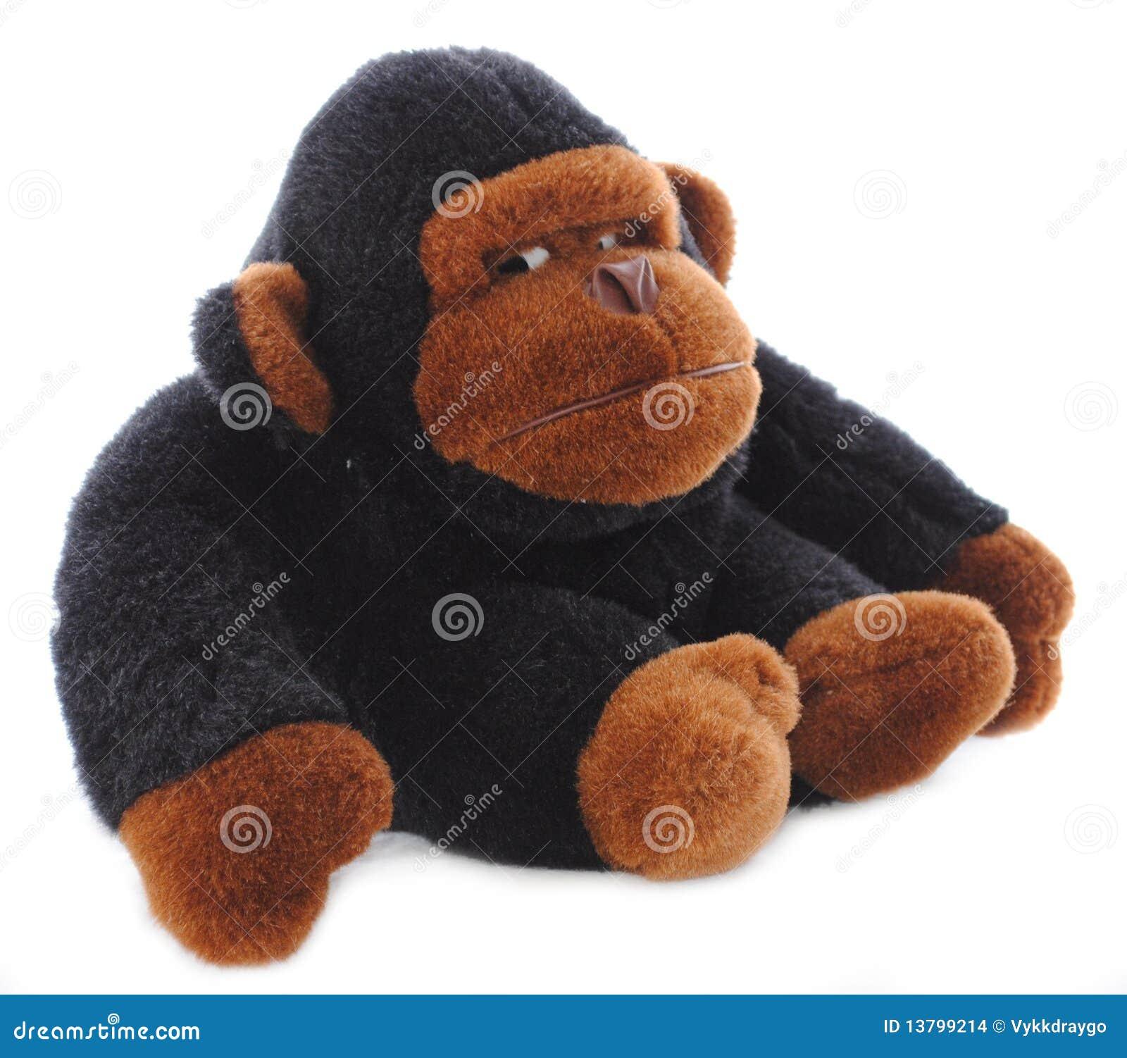 Getrenntes Gorilla-angefülltes Tier
