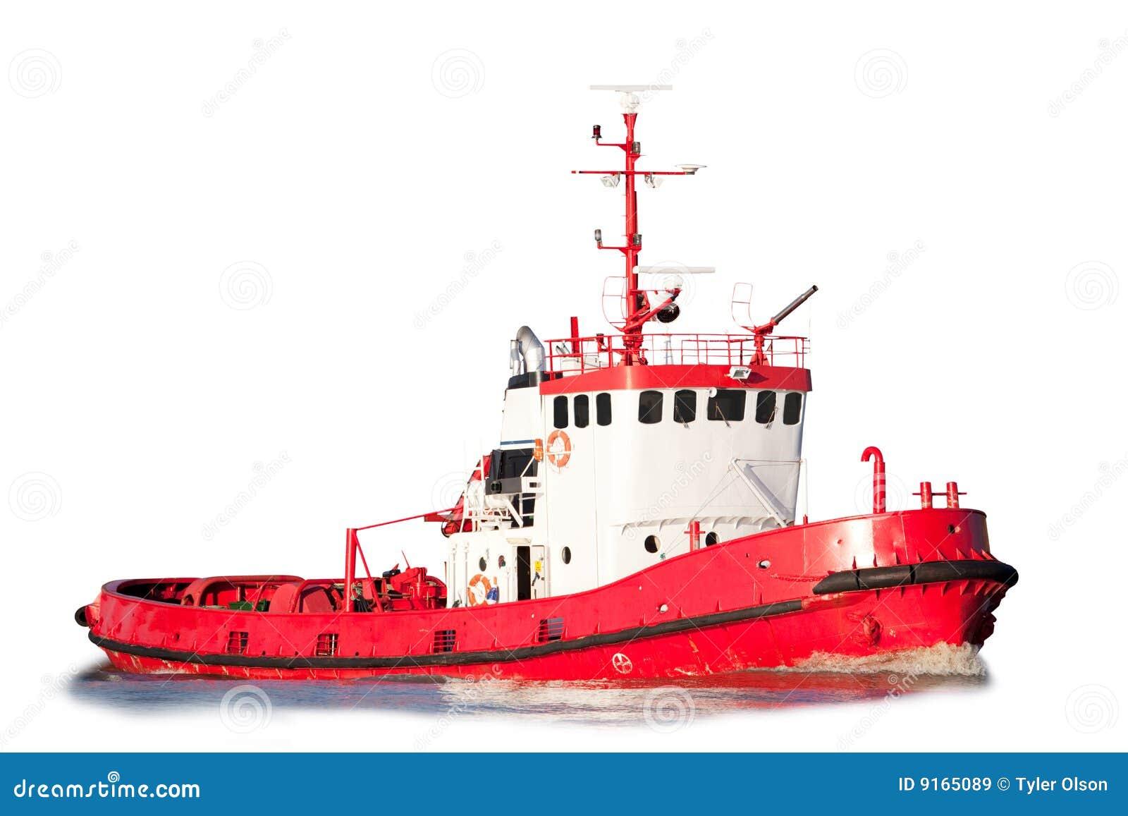 Getrenntes Schlepper-Boot