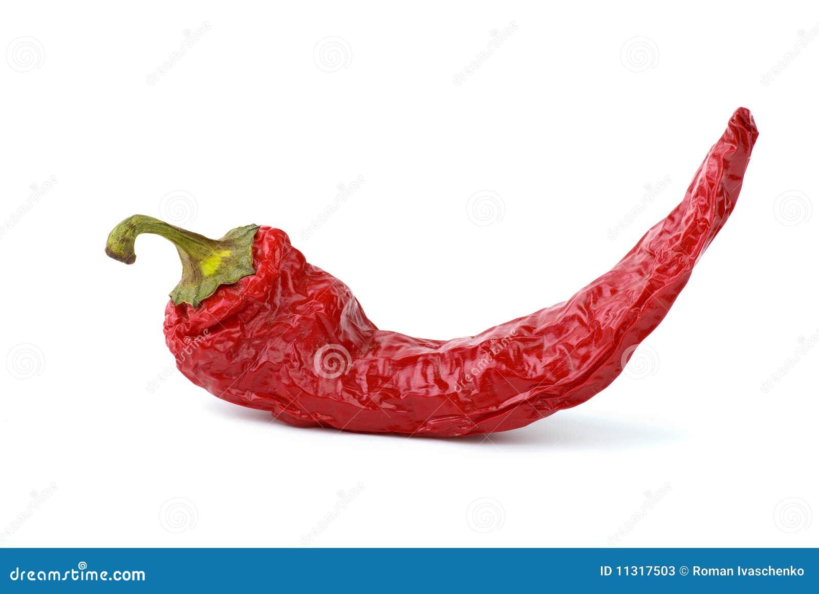 Getrockneter Pfeffer des roten Paprikas