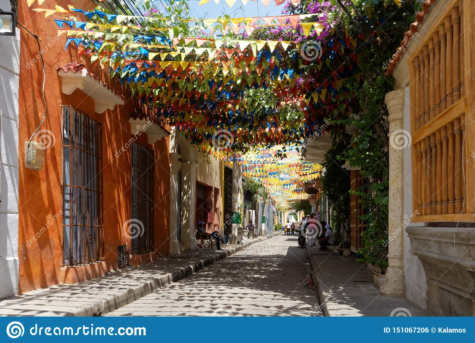 Getsemani Street Decorations 5 Editorial Photo Image Of Decorations Attraction 151067206