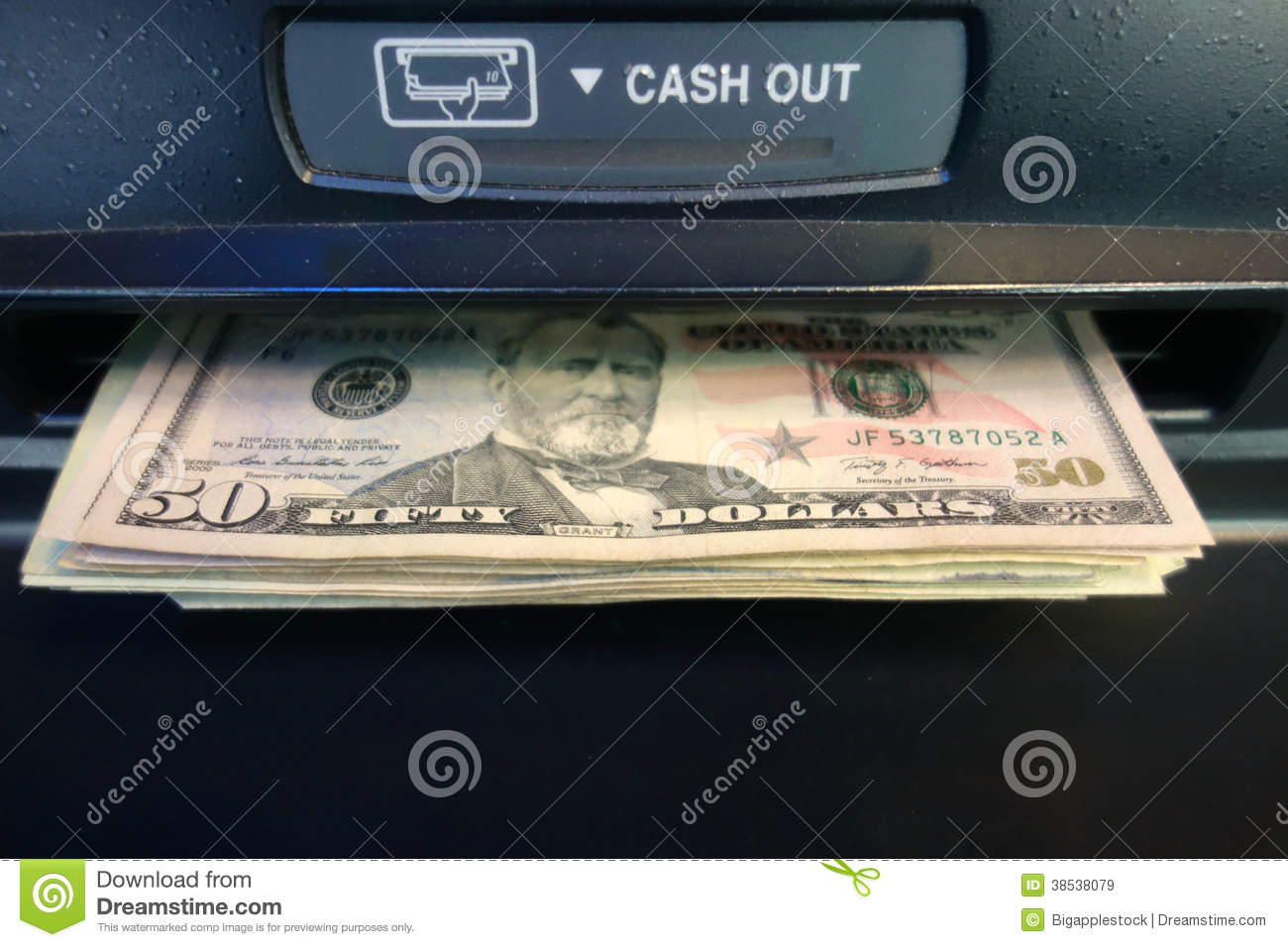 Getting Cash at an ATM