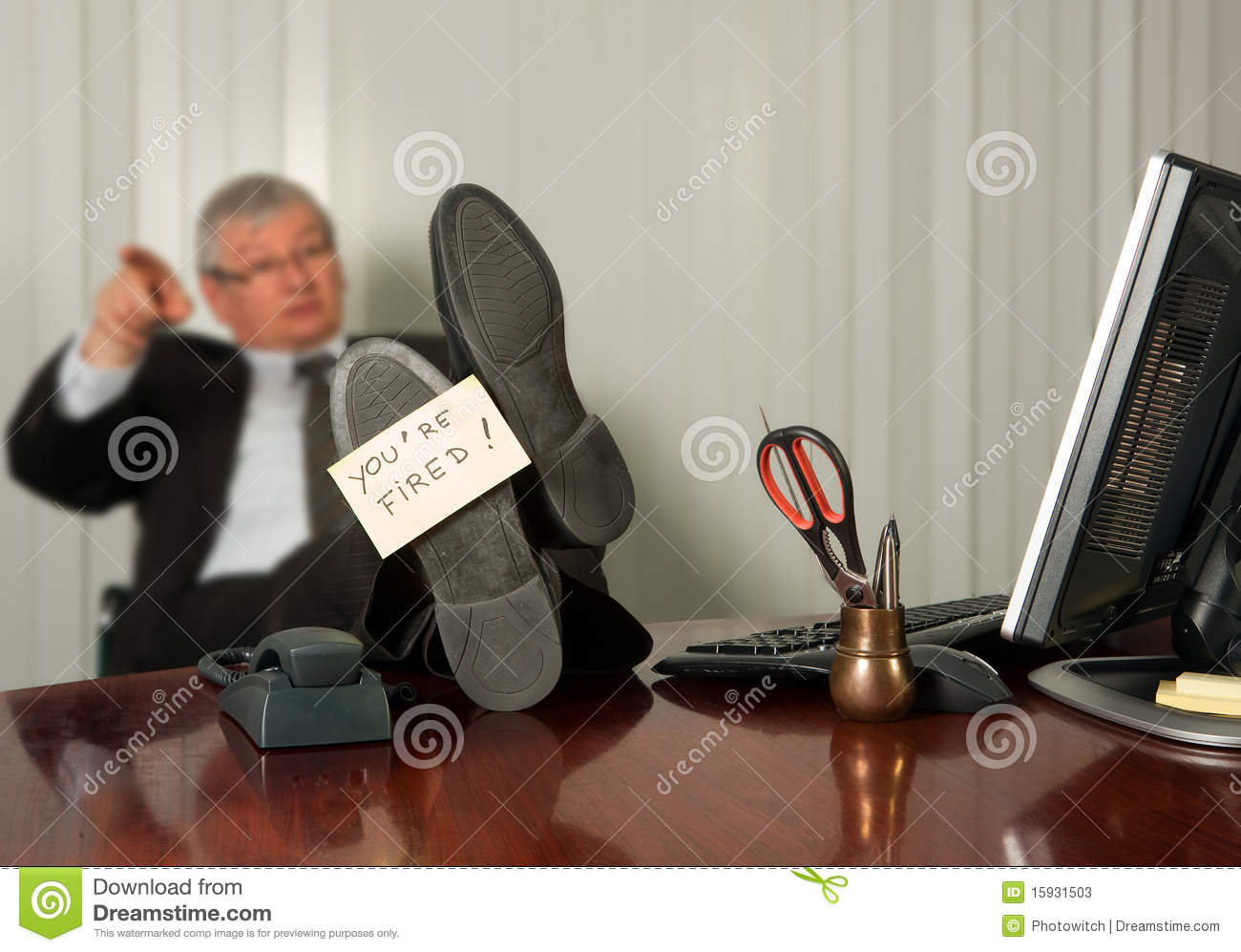 getting fired stock photos image  getting fired
