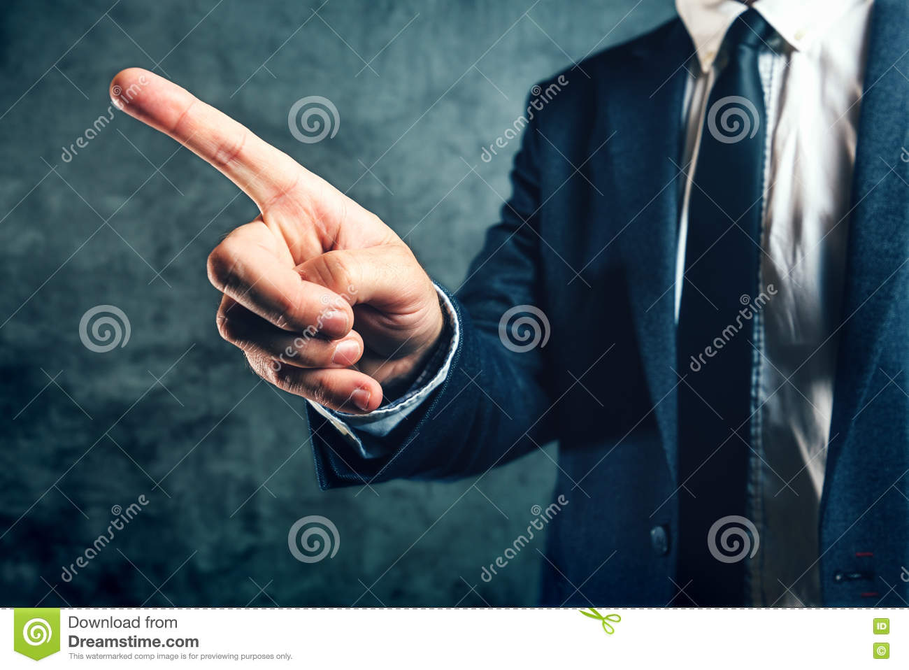 getting fired from job office manager showing way out stock photo getting fired from job office manager showing way out