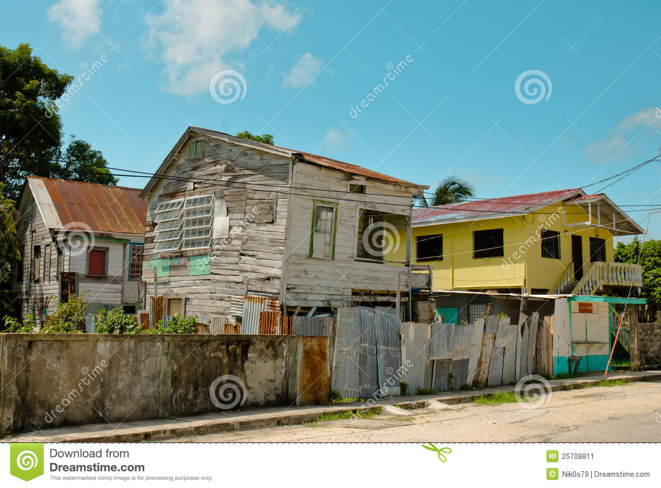 Getto, Belize-Stadt