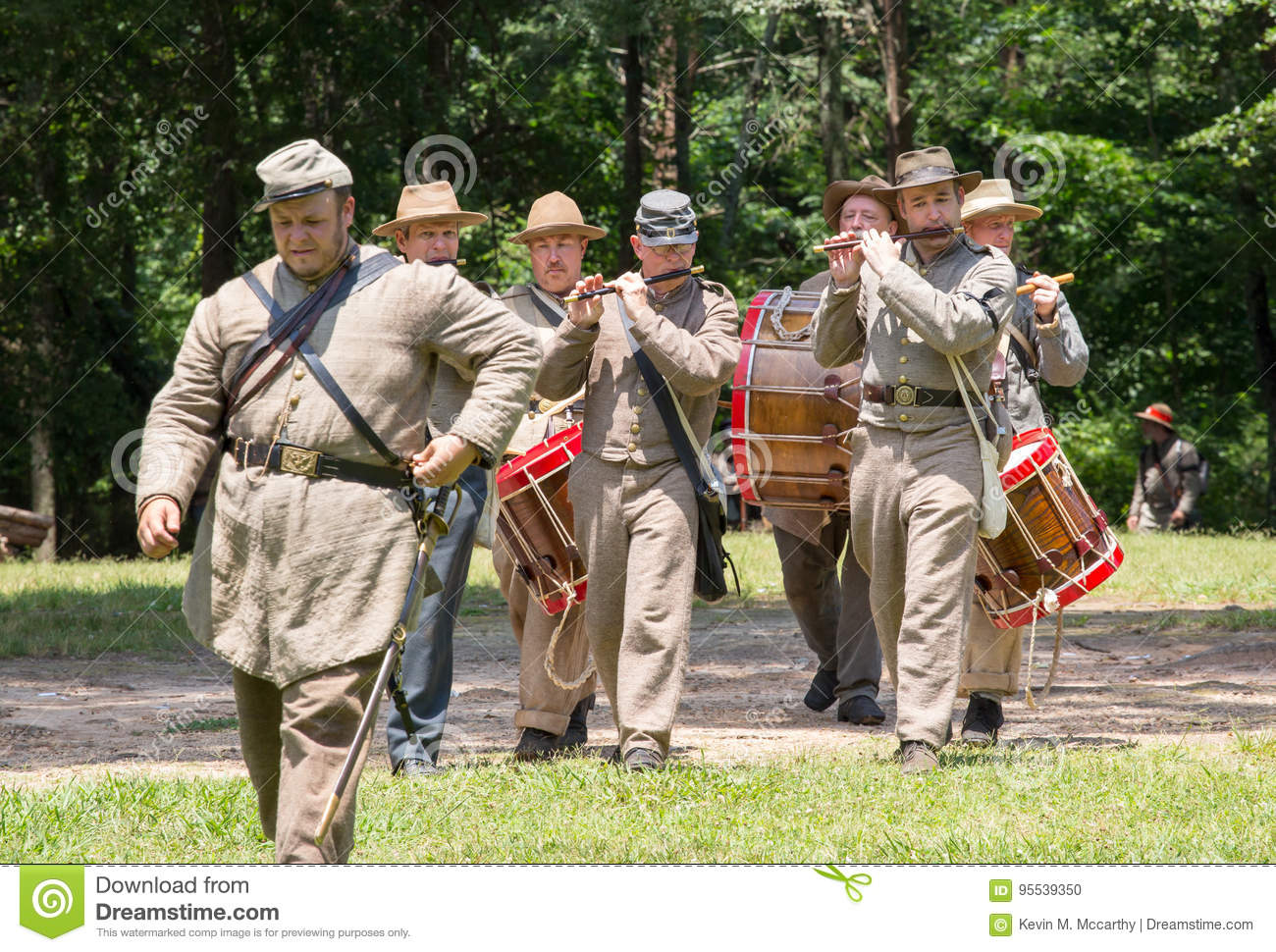 Gettysburg Battle Reenactment Editorial Image - Image of