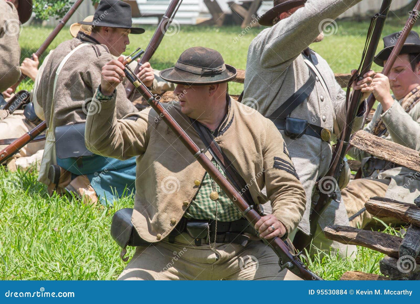 Gettysburg bitwy Reenactment